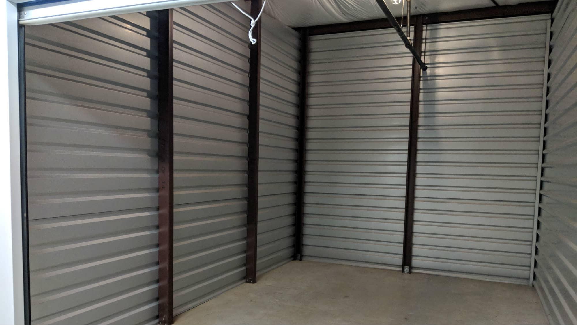 Open unit at Self Storage Plus in Arlington, VA