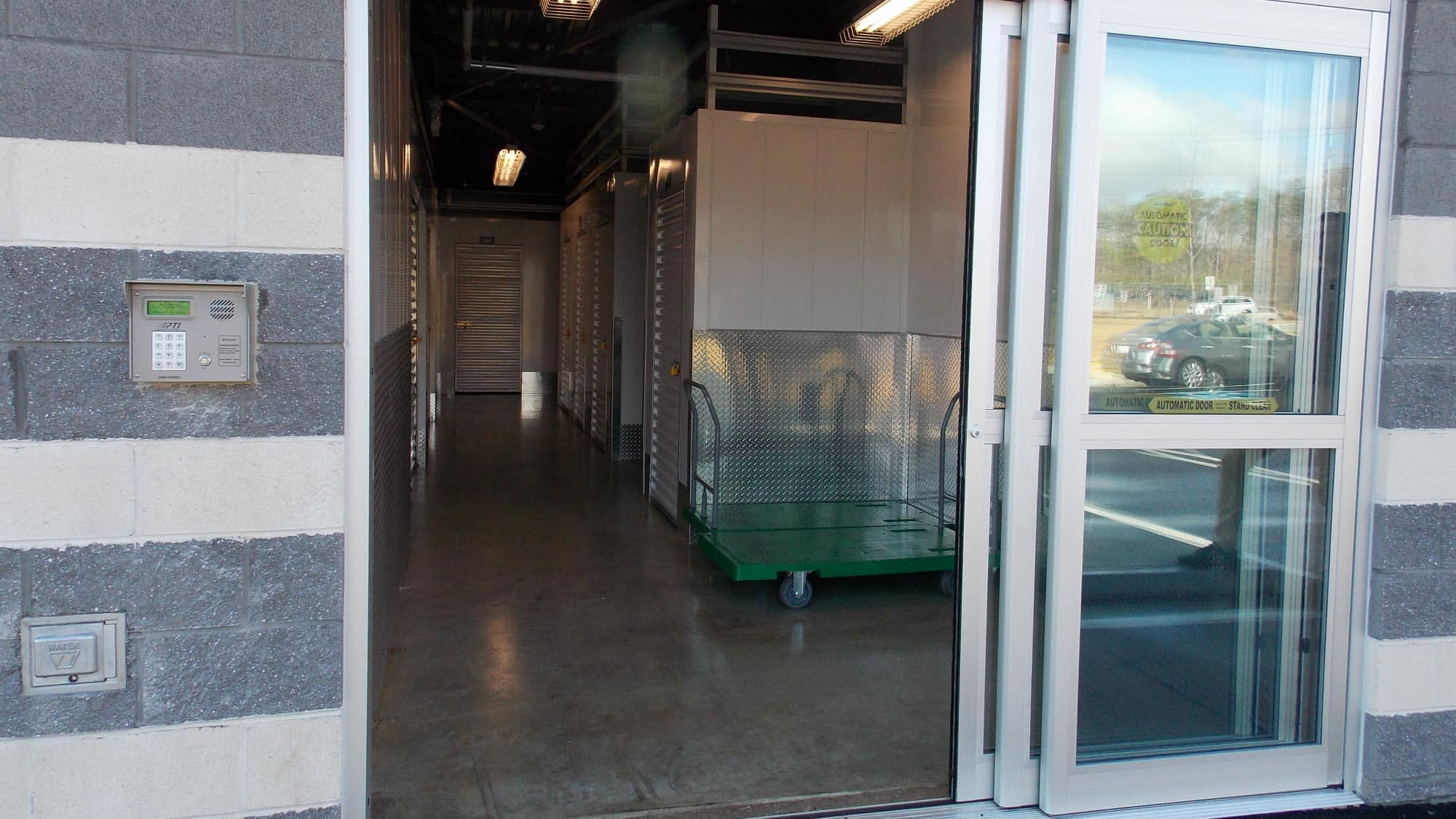 Loading area at Self Storage Plus in Fredericksburg, Virginia