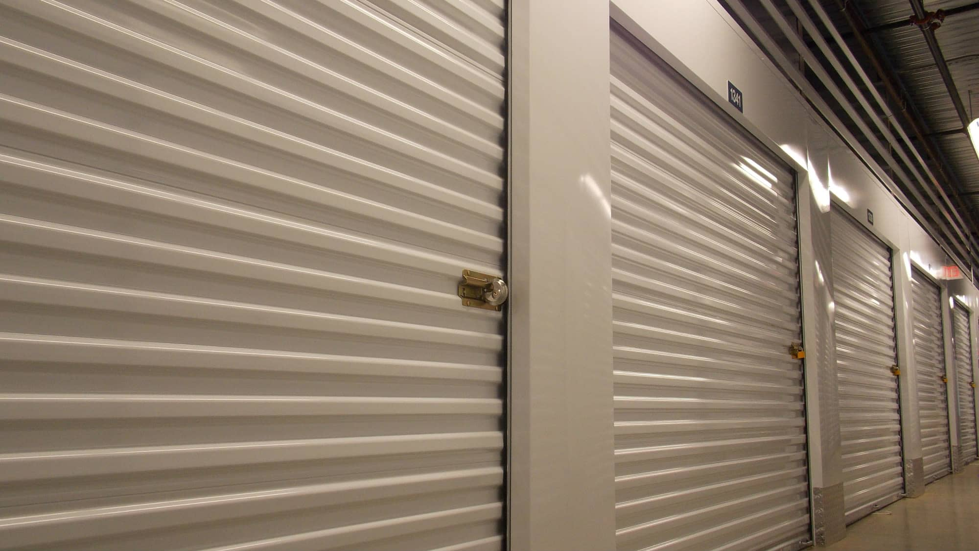 Interior units at Self Storage Plus in Fredericksburg, Virginia