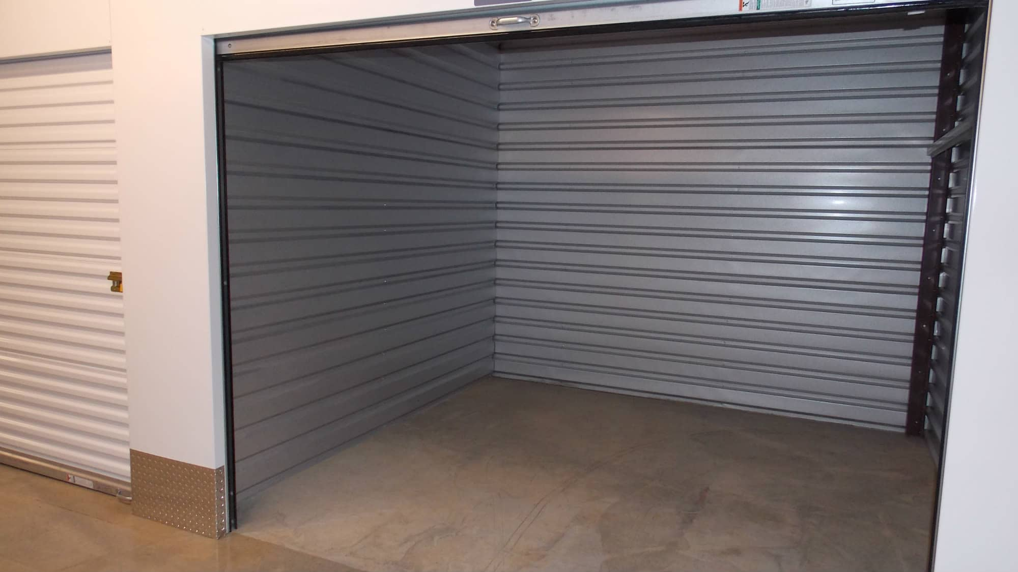 Open unit at Self Storage Plus in Fredericksburg, Virginia