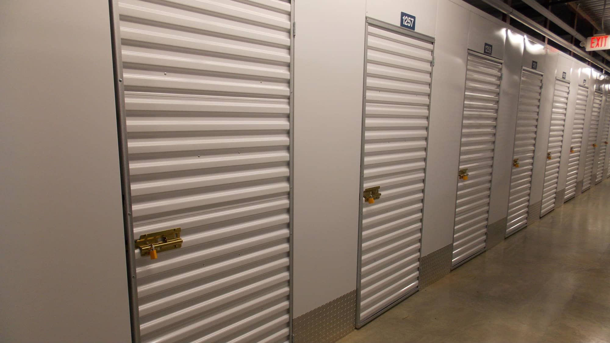 Locker units at Self Storage Plus in Fredericksburg, Virginia