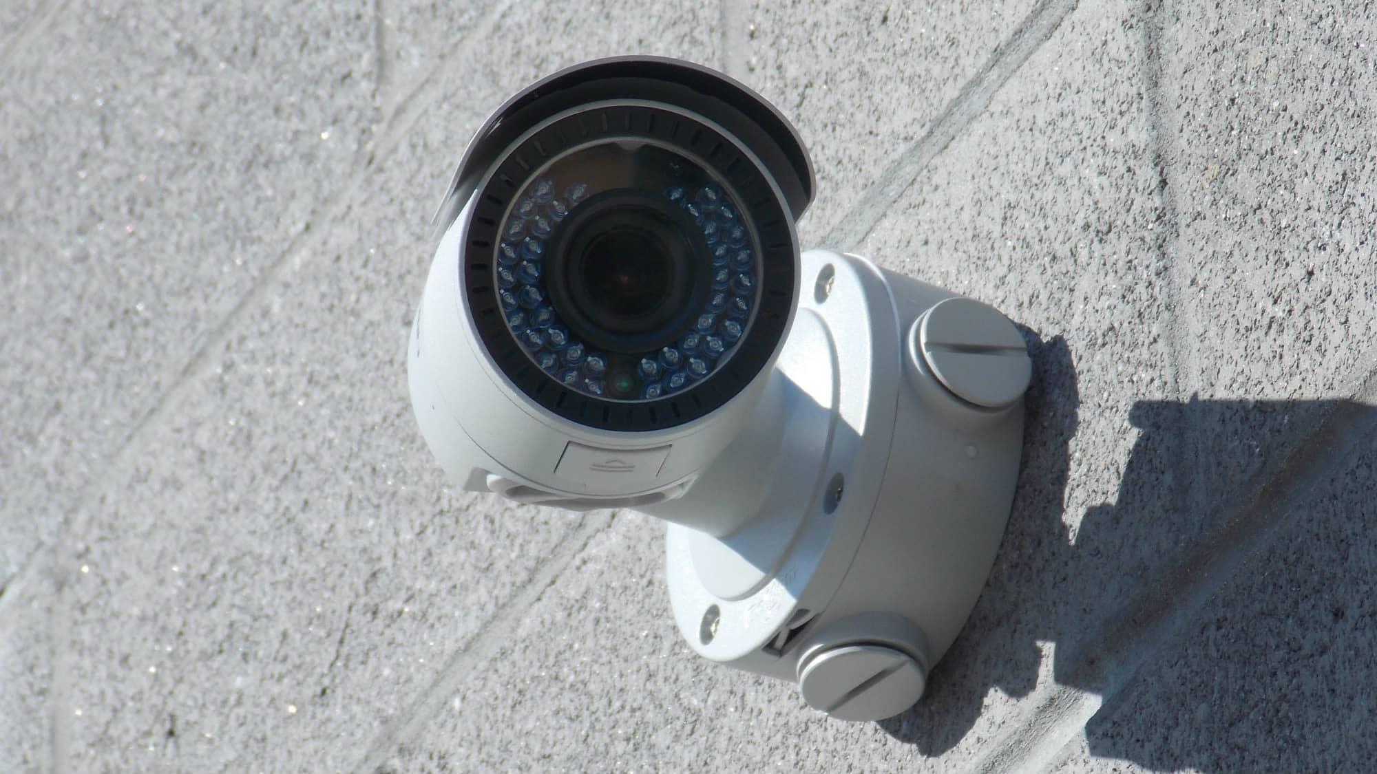 Security camera at Self Storage Plus in Fredericksburg, Virginia