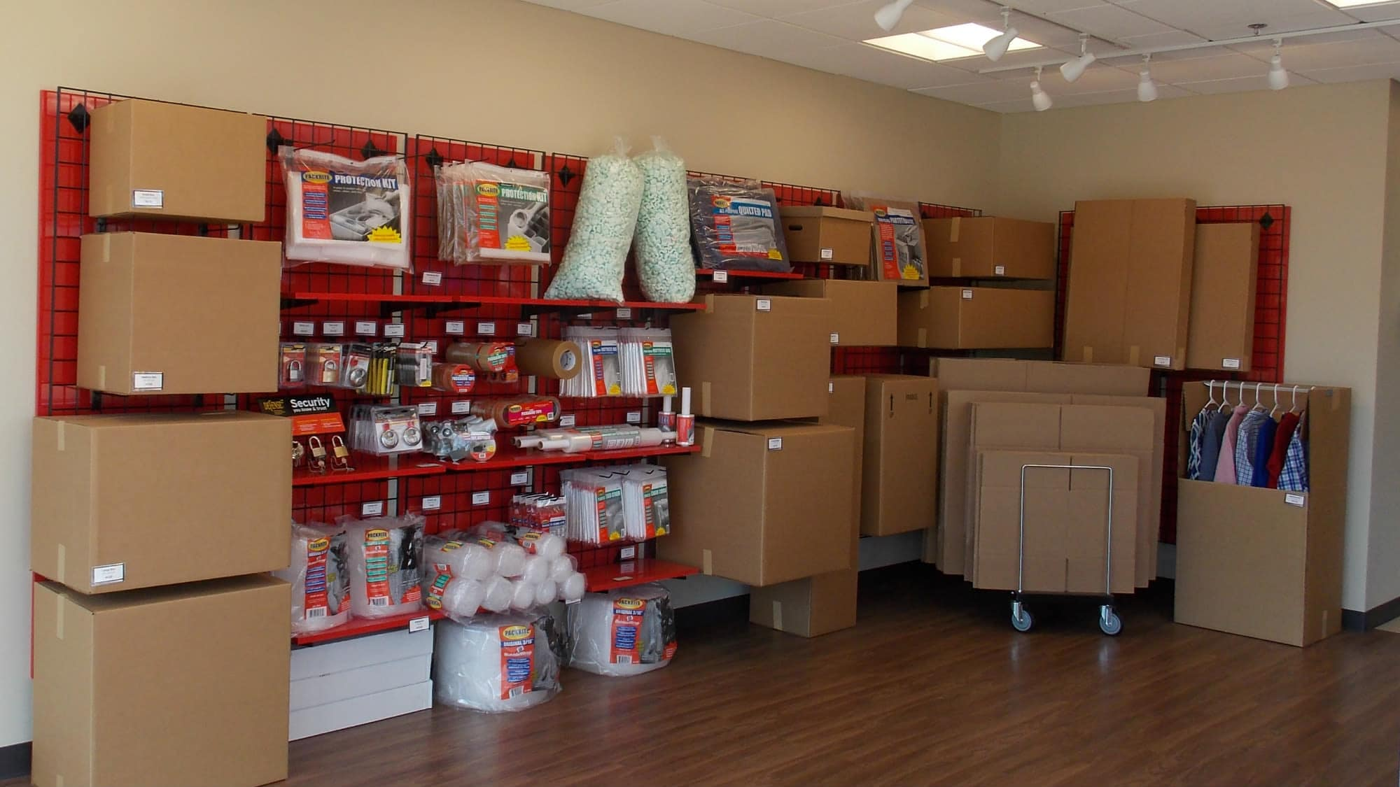 Packing supplies for sale at Self Storage Plus in Fredericksburg, Virginia