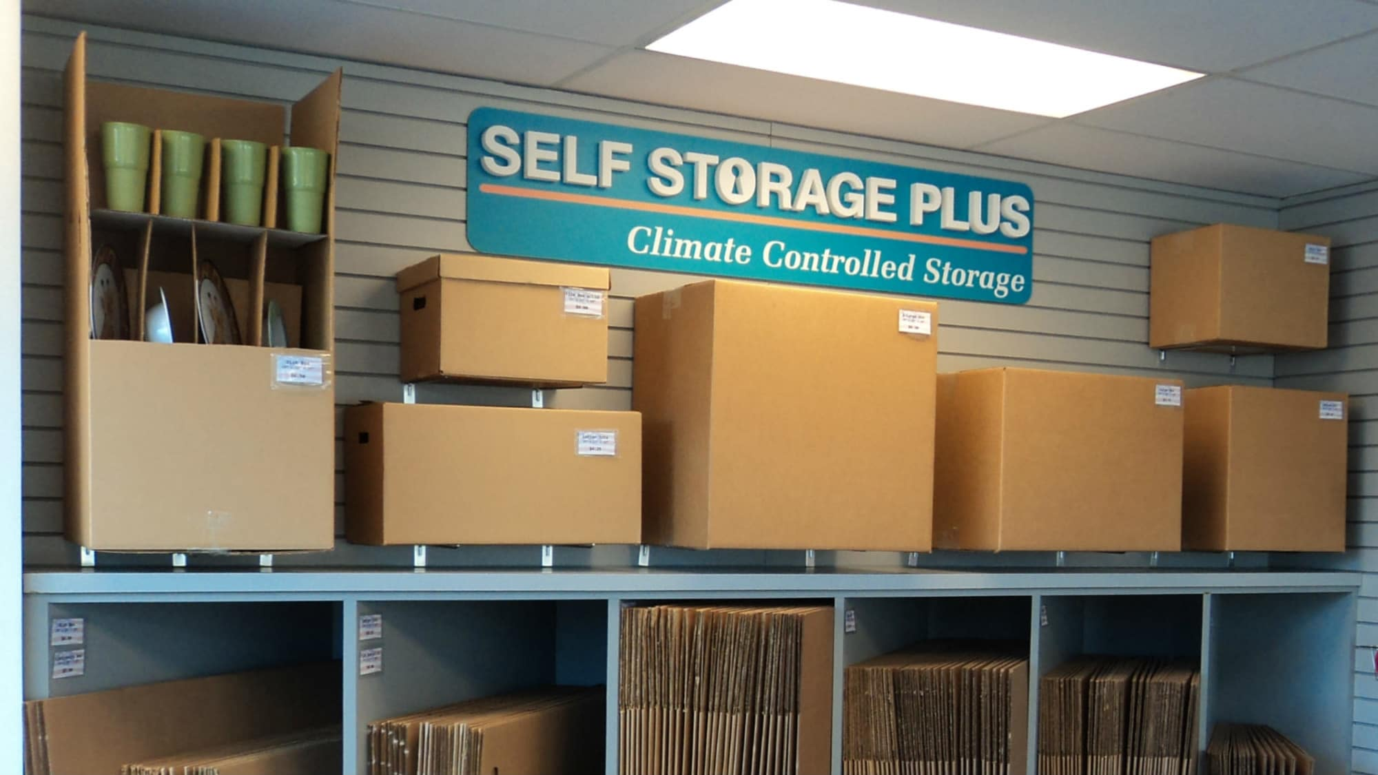 Packing supplies at Self Storage Plus in Alexandria, VA