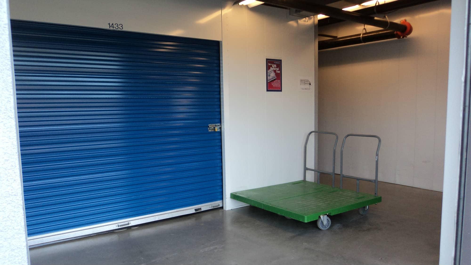 Carts available at Self Storage Plus in Woodbridge, VA
