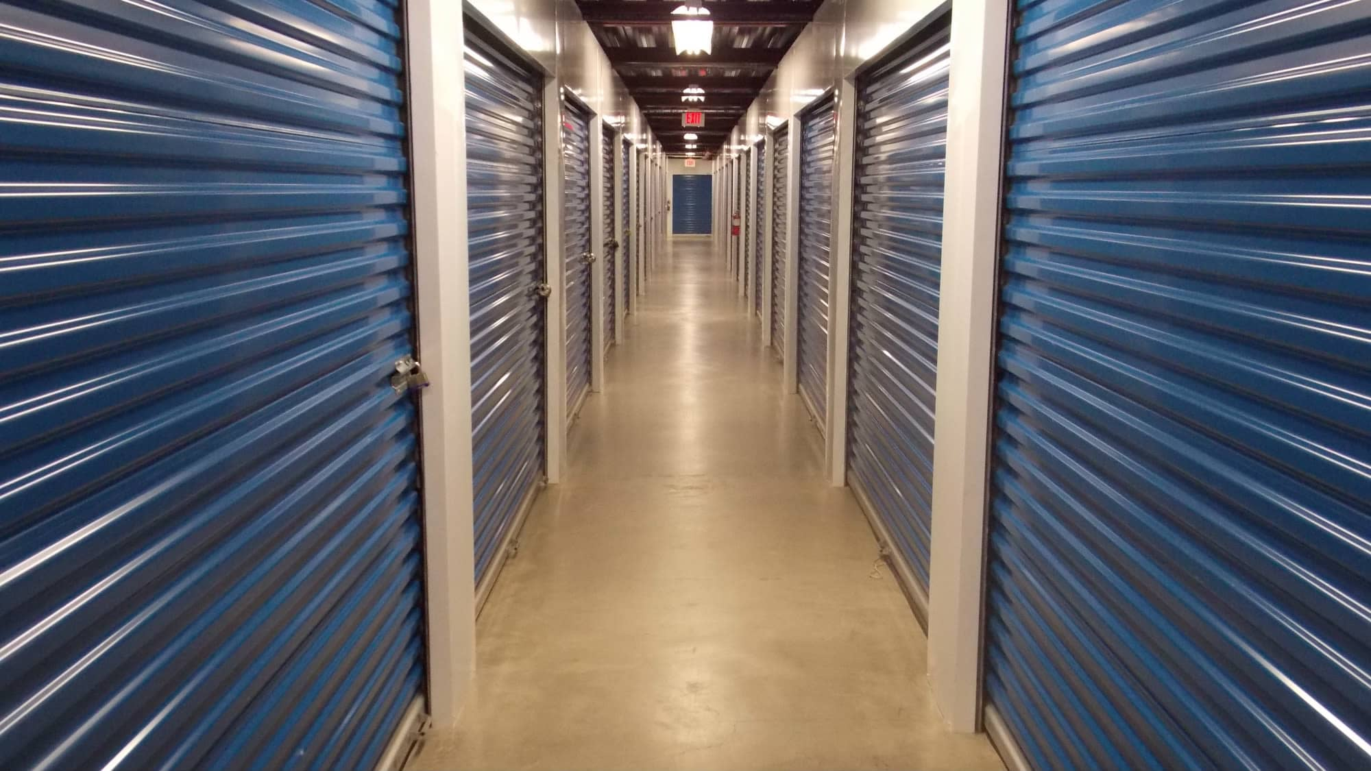 Interior units at Self Storage Plus in Woodbridge, VA
