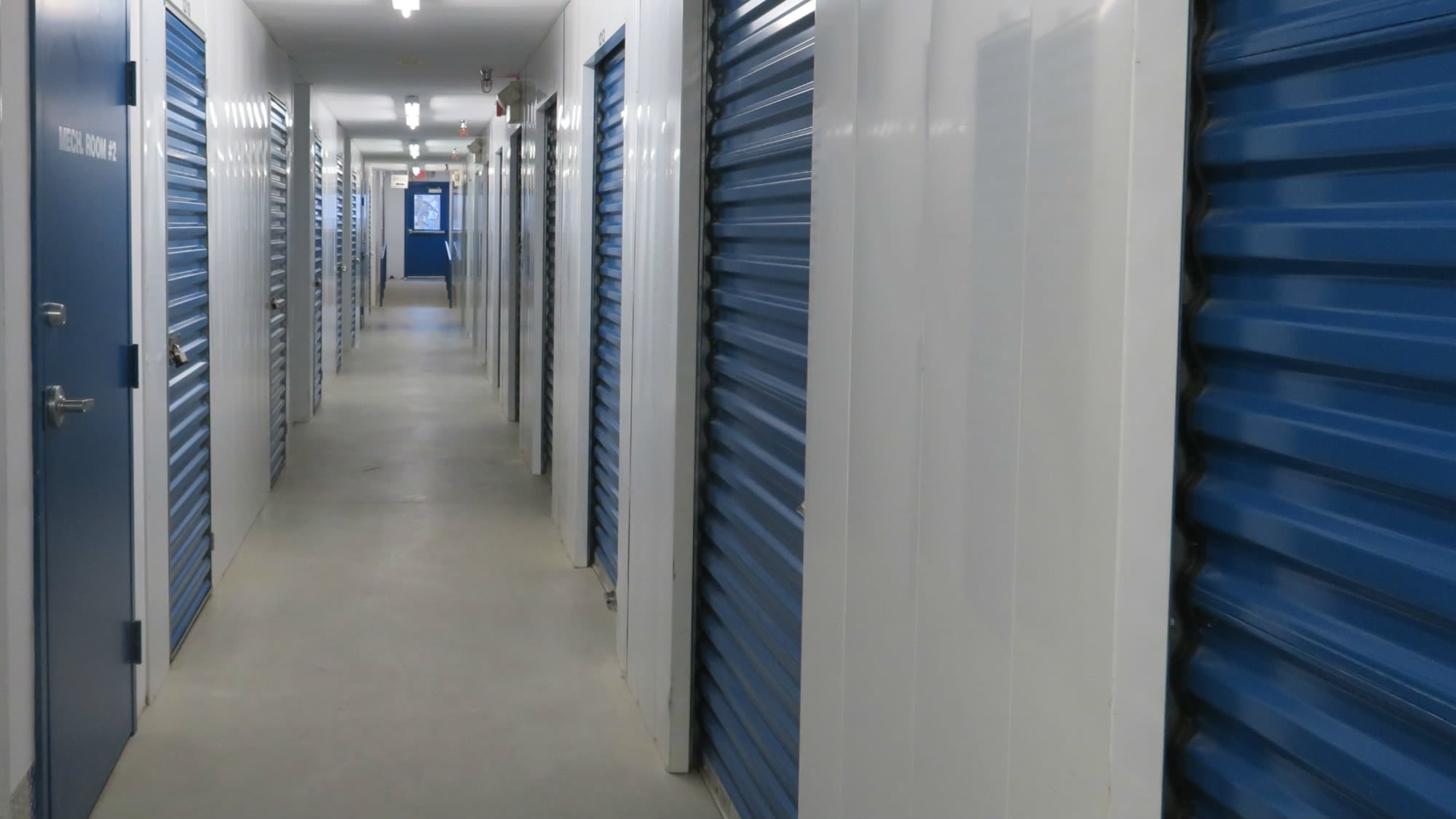 Interior units at Self Storage Plus in Gambrills, MD
