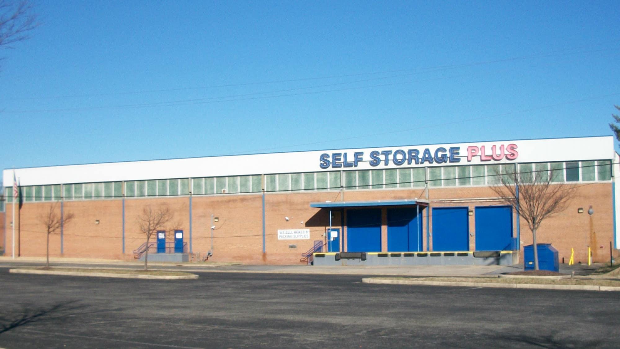 Loading dock at Self Storage Plus in Lanham, MD