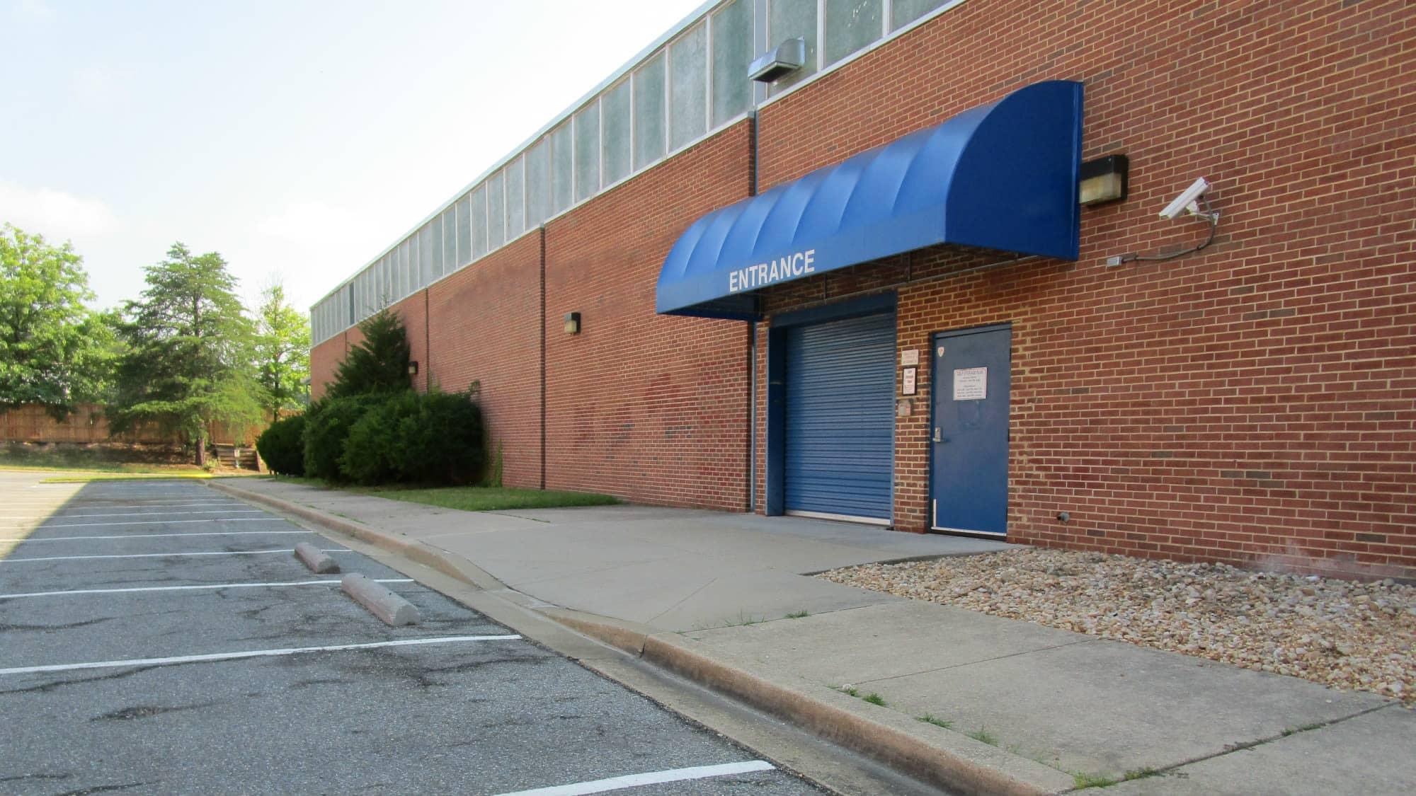 Parking spaces at Self Storage Plus in Lanham, MD