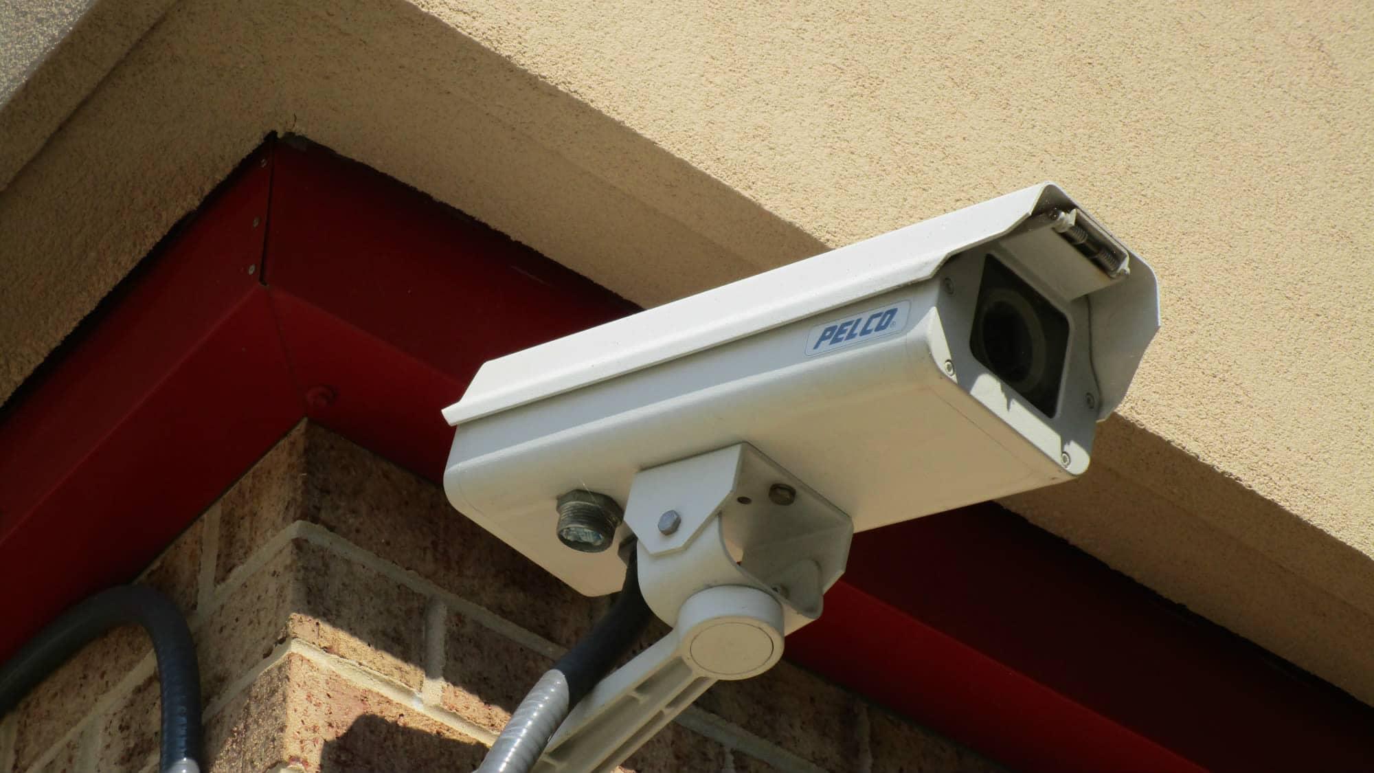 Security camera at Self Storage Plus in Lanham, MD