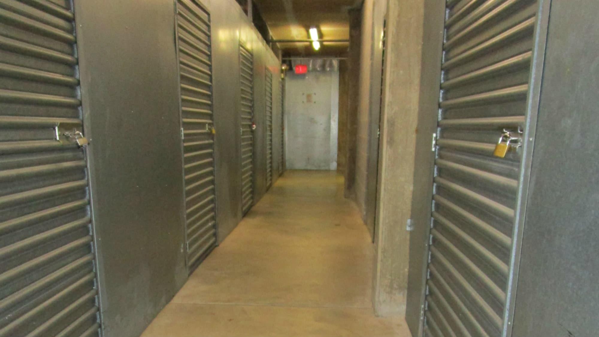 Locker units at Self Storage Plus in Lanham, MD