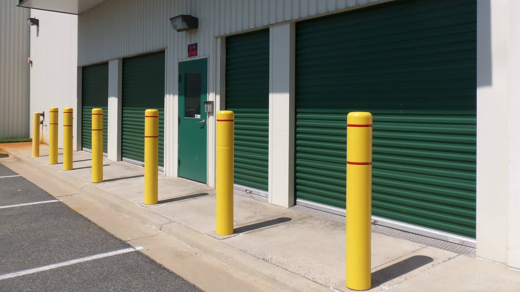 Loading area at Self Storage Plus in Rockville, MD