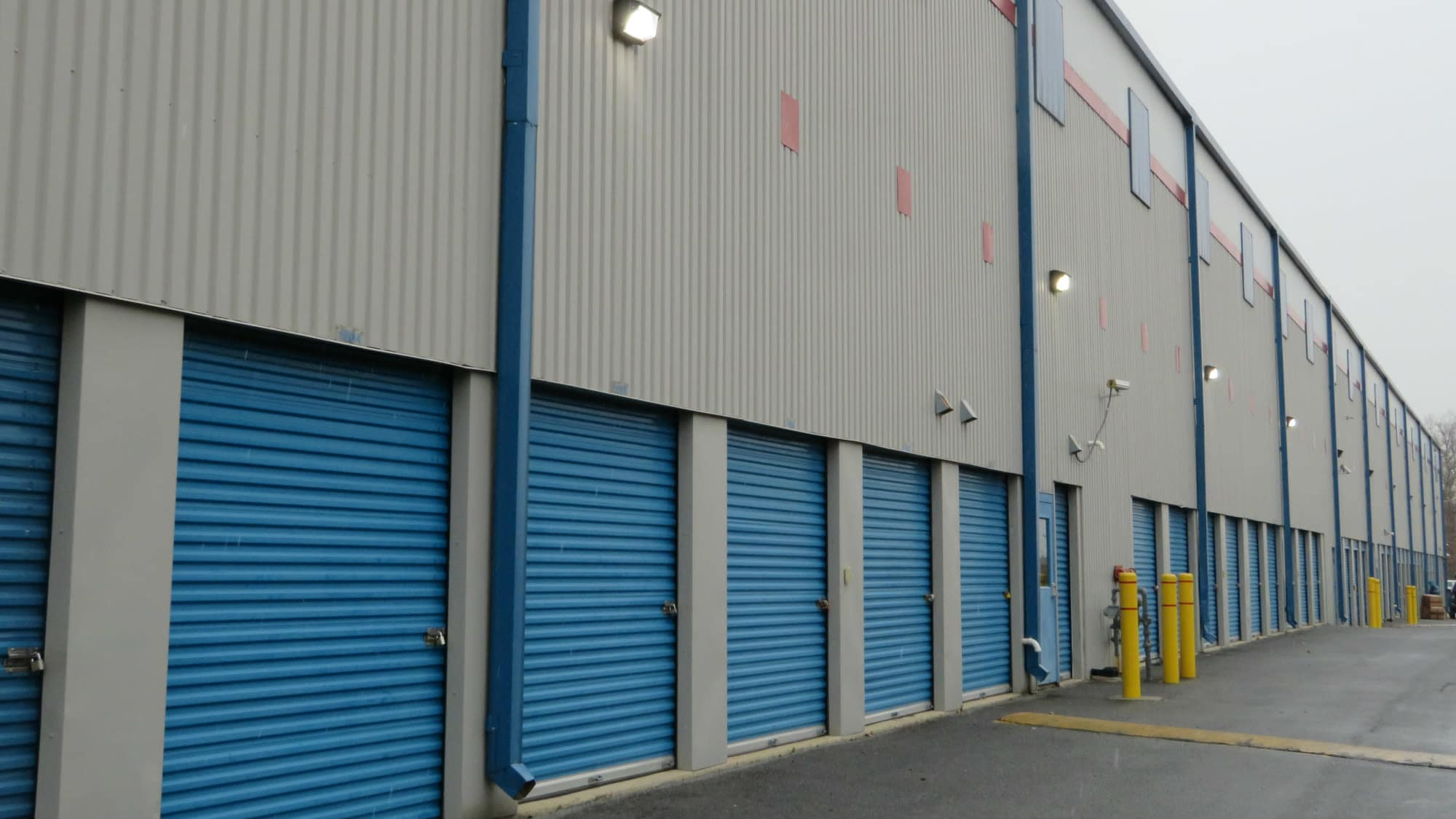 Ground-level units at Self Storage Plus in Silver Spring, MD