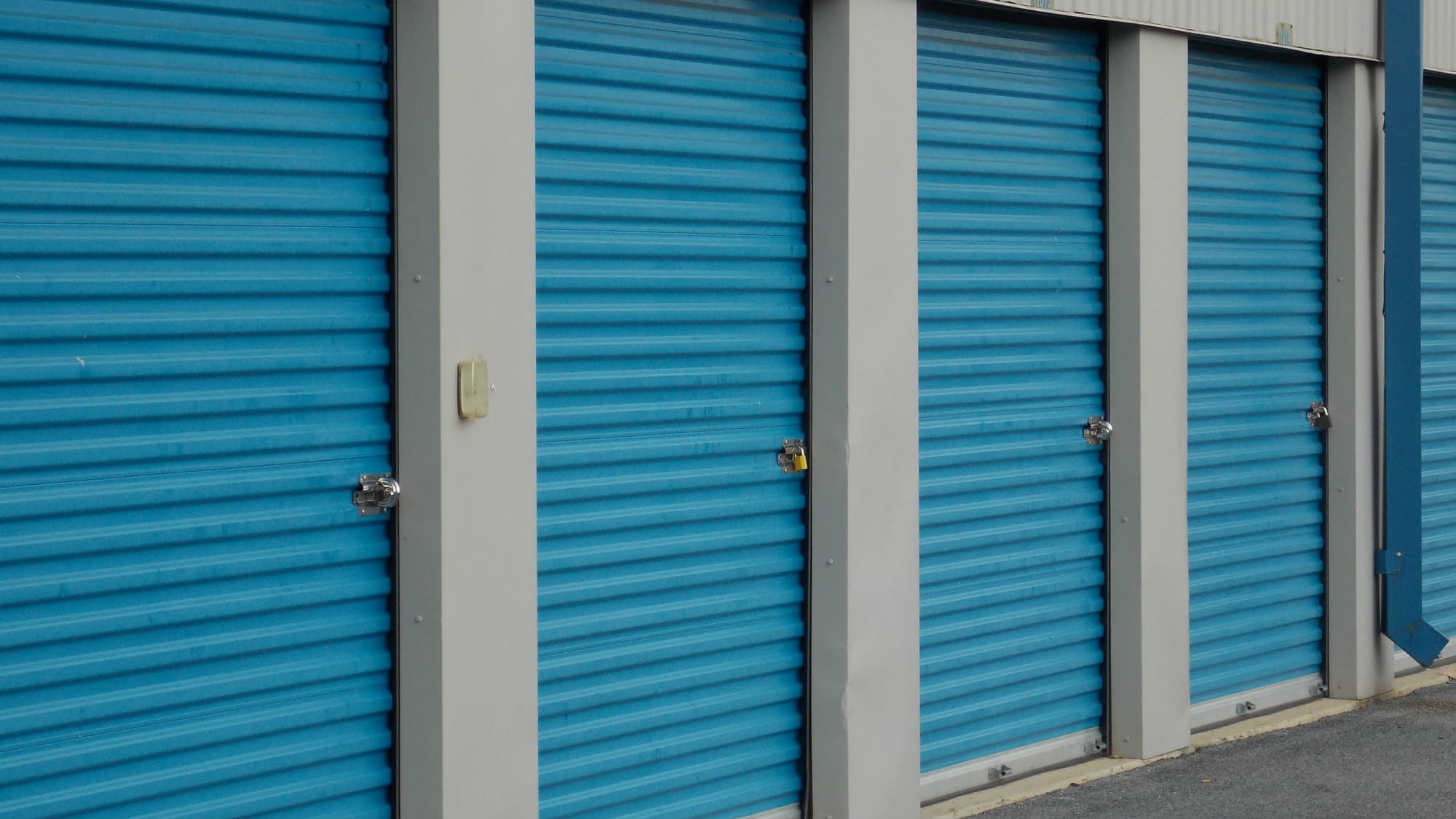 Drive-up units at Self Storage Plus in Silver Spring, MD