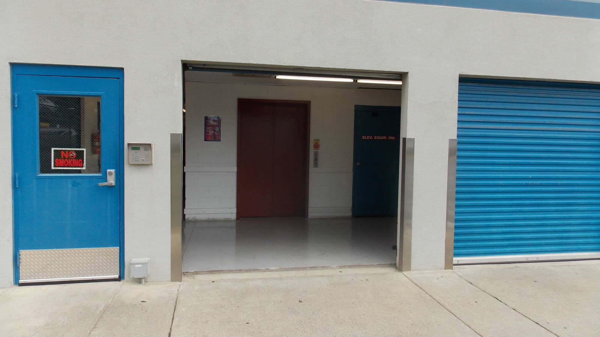 Loading area at Self Storage Plus in Silver Spring, MD