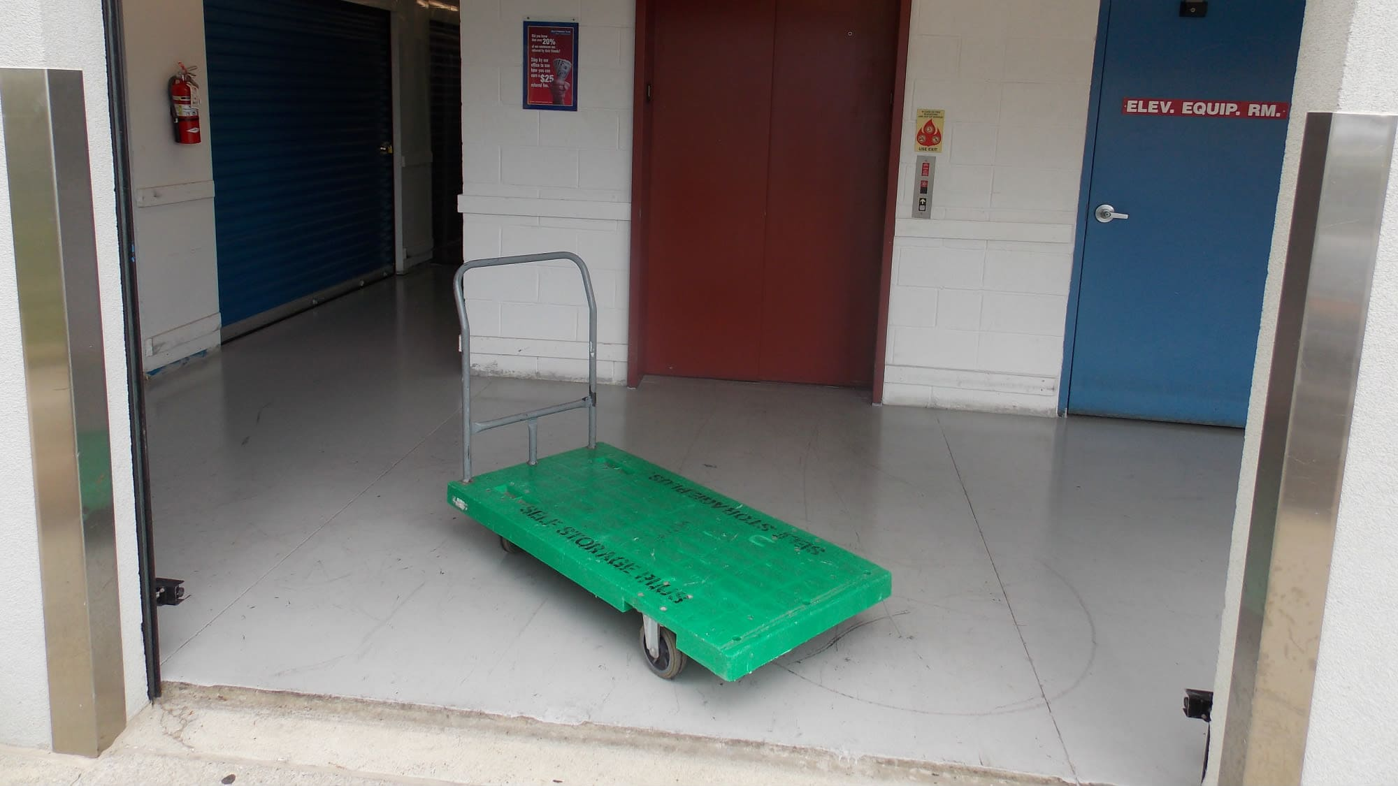 Cart available at Self Storage Plus in Silver Spring, MD
