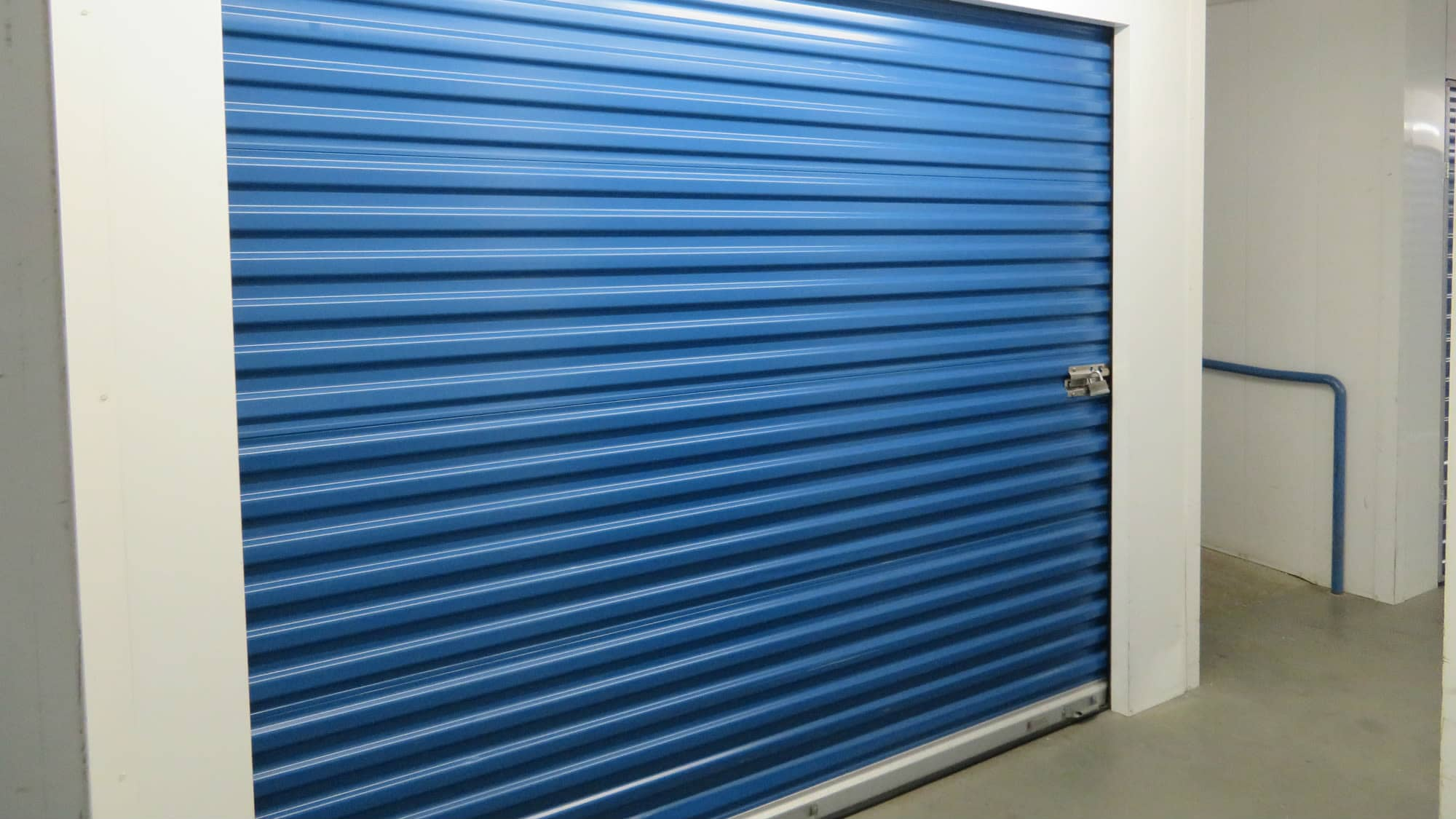 Roll-up door at Self Storage Plus in Silver Spring, MD
