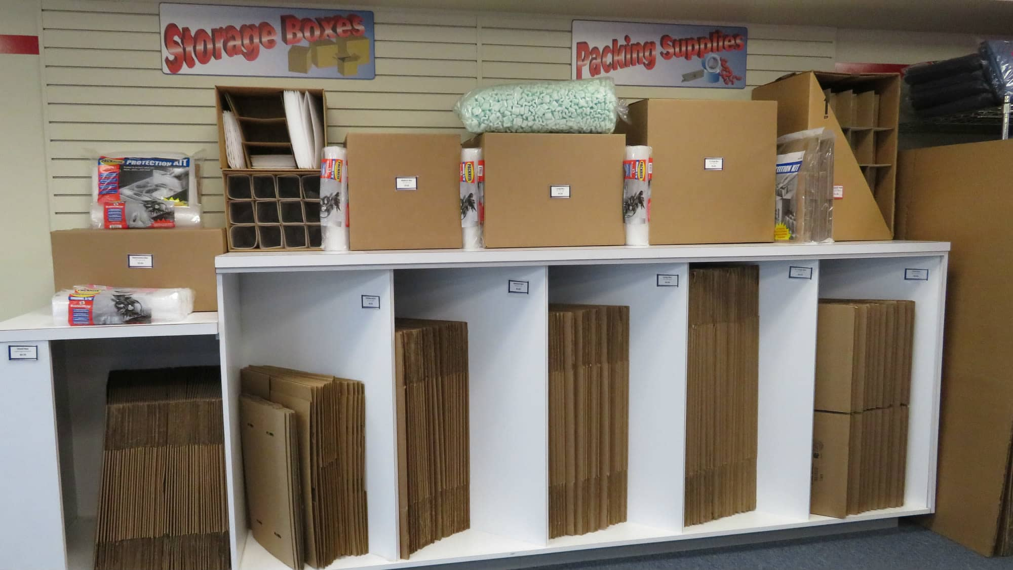 Packing and moving supplies available at Self Storage Plus in Silver Spring, MD