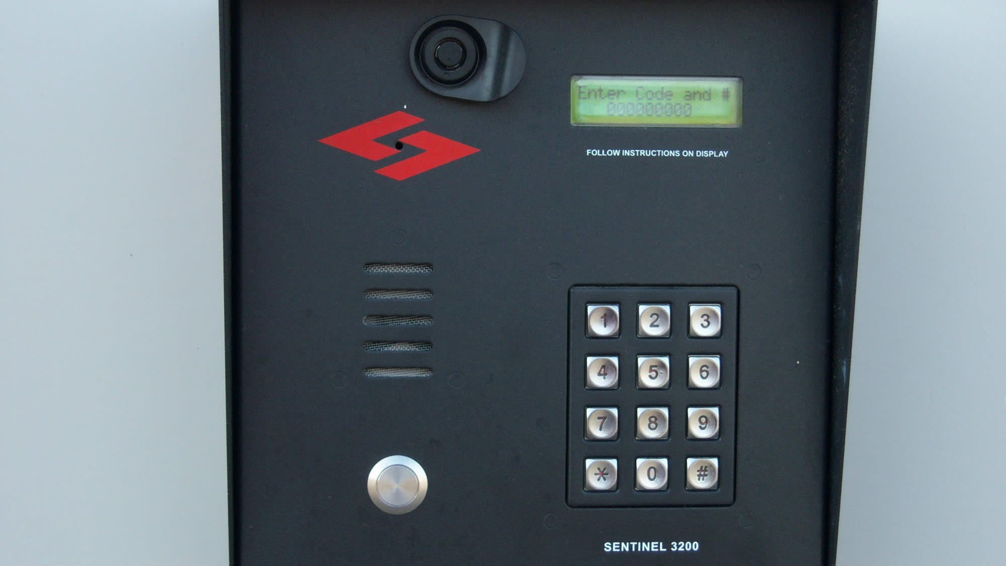 Key pad at Air and Space Self Storage in Chantilly, VA