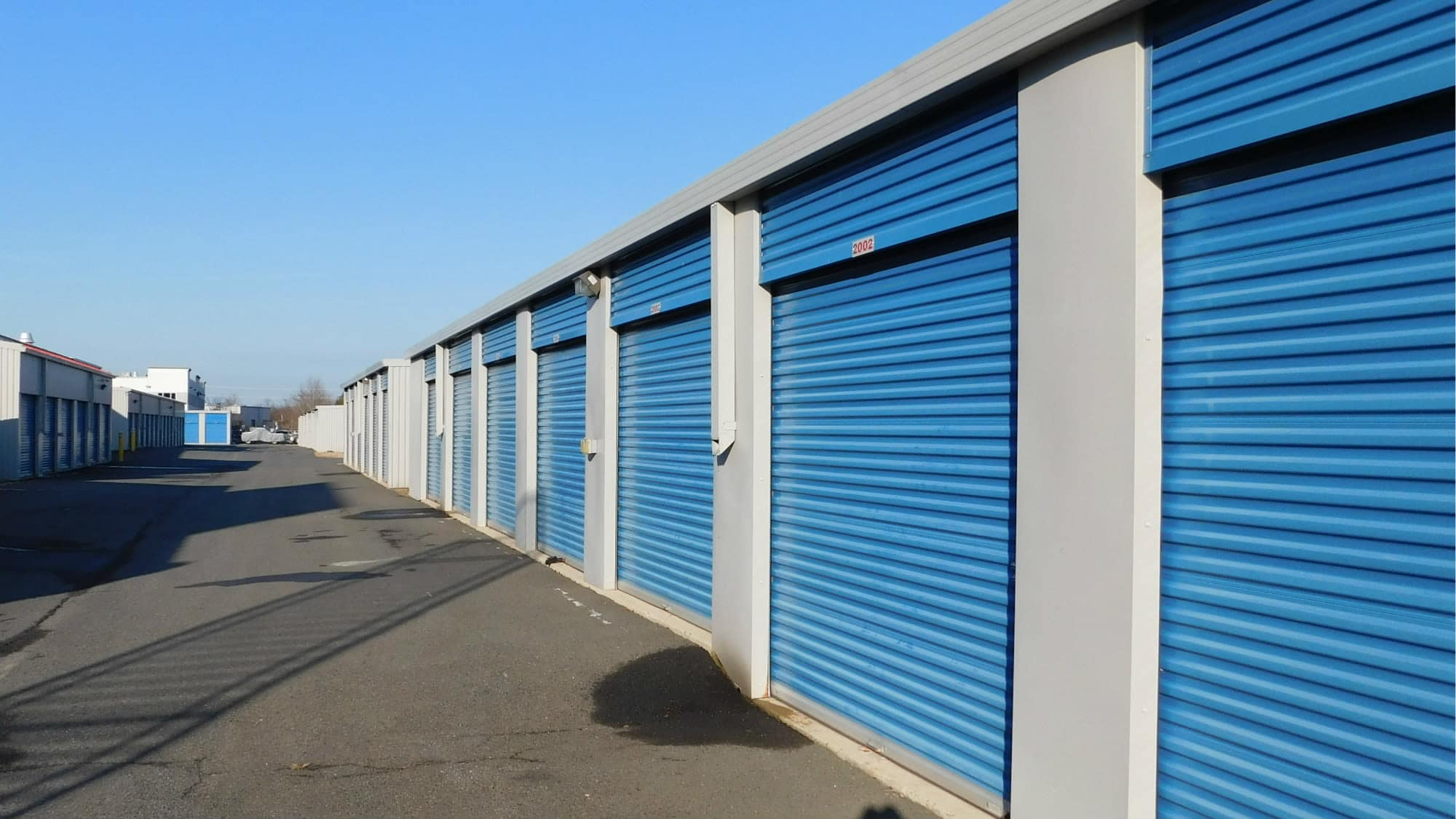 Wide driveways at Air and Space Self Storage in Chantilly, VA