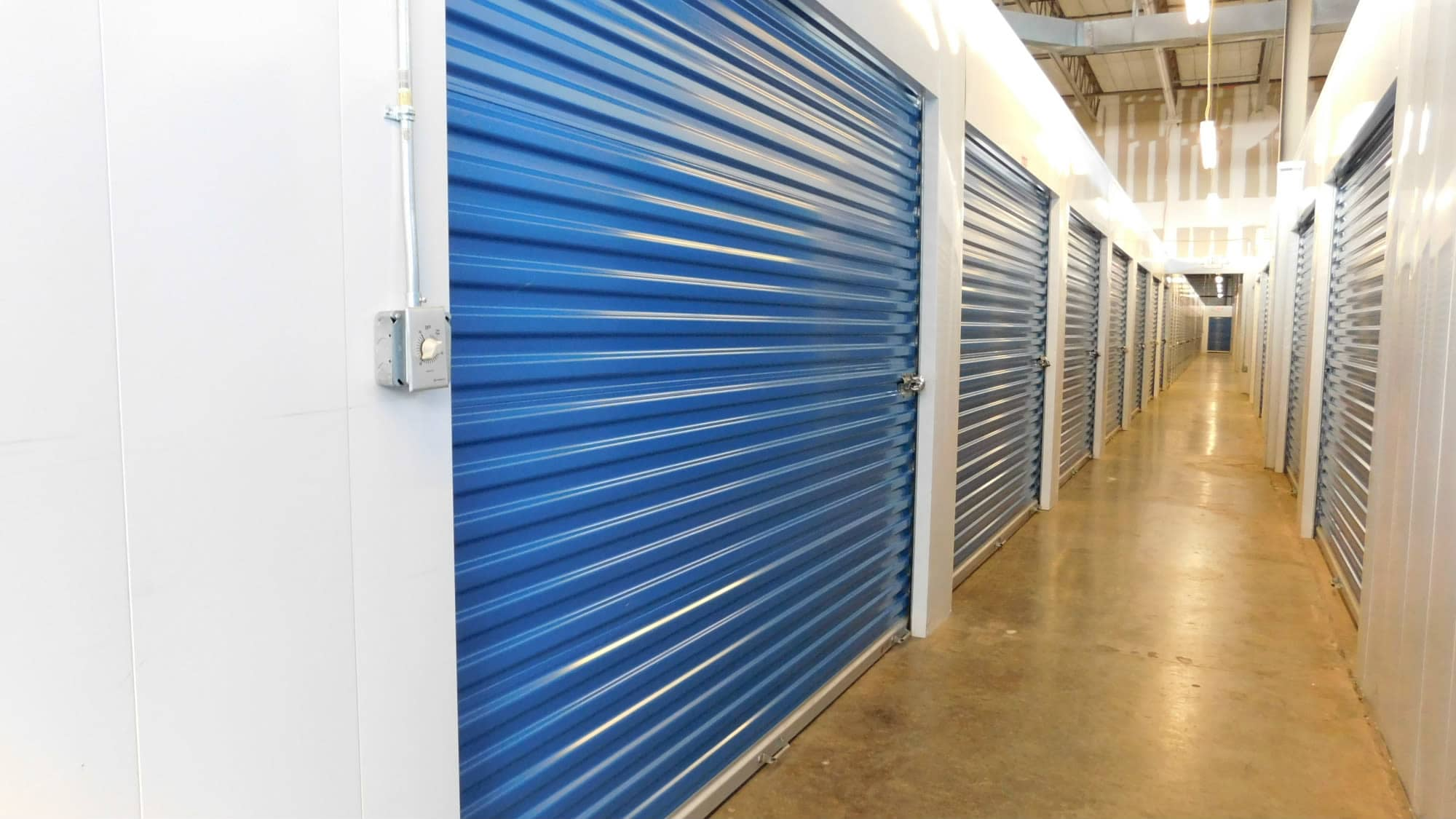 Interior units at Air and Space Self Storage in Chantilly, VA