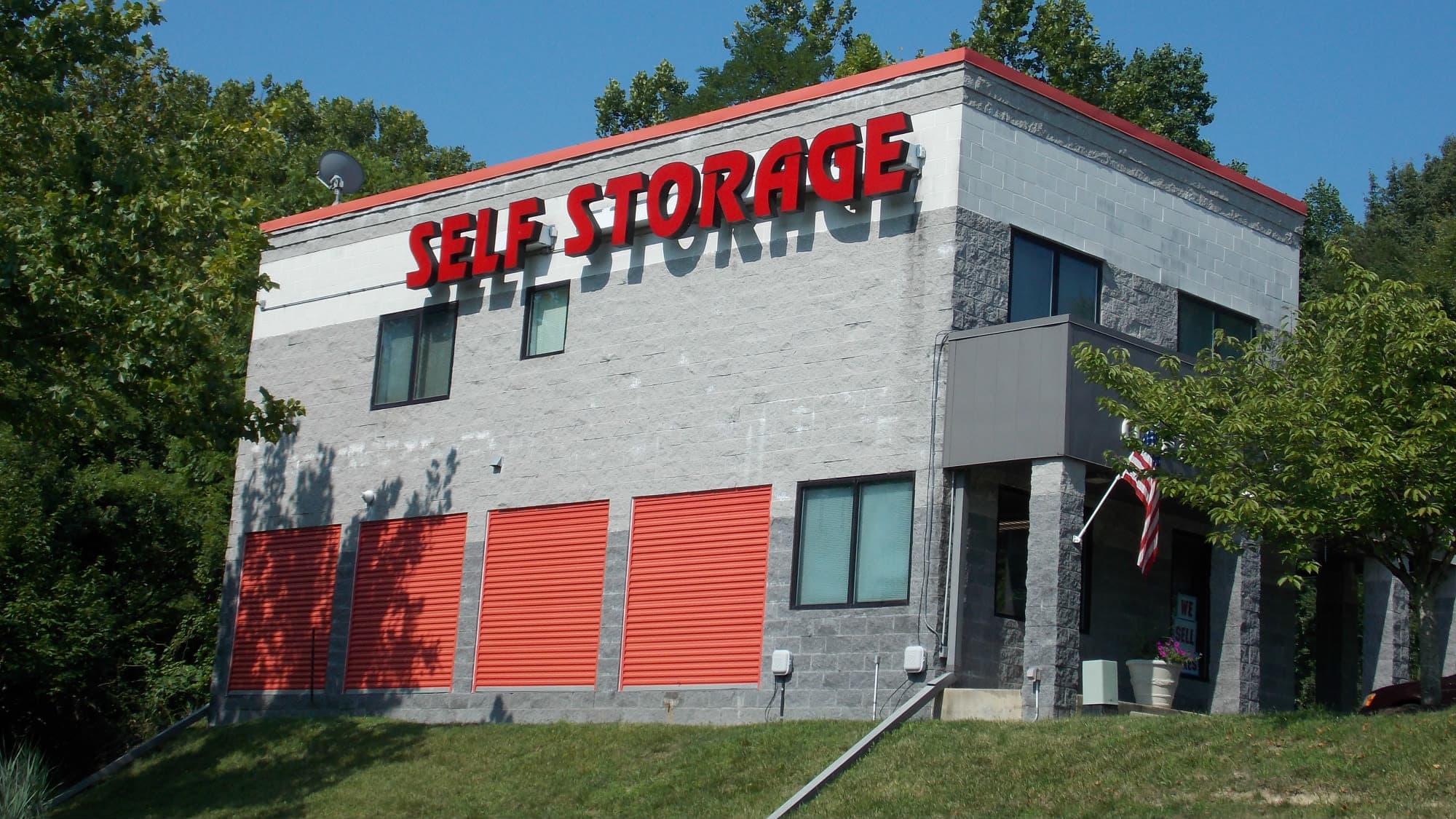 Exterior of Freestate Self Storage in Laurel, Maryland