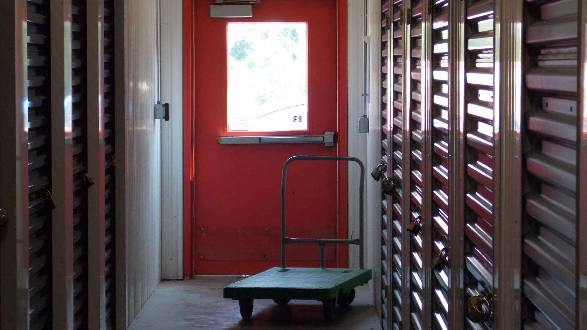 Carts available at Freestate Self Storage in Laurel, Maryland