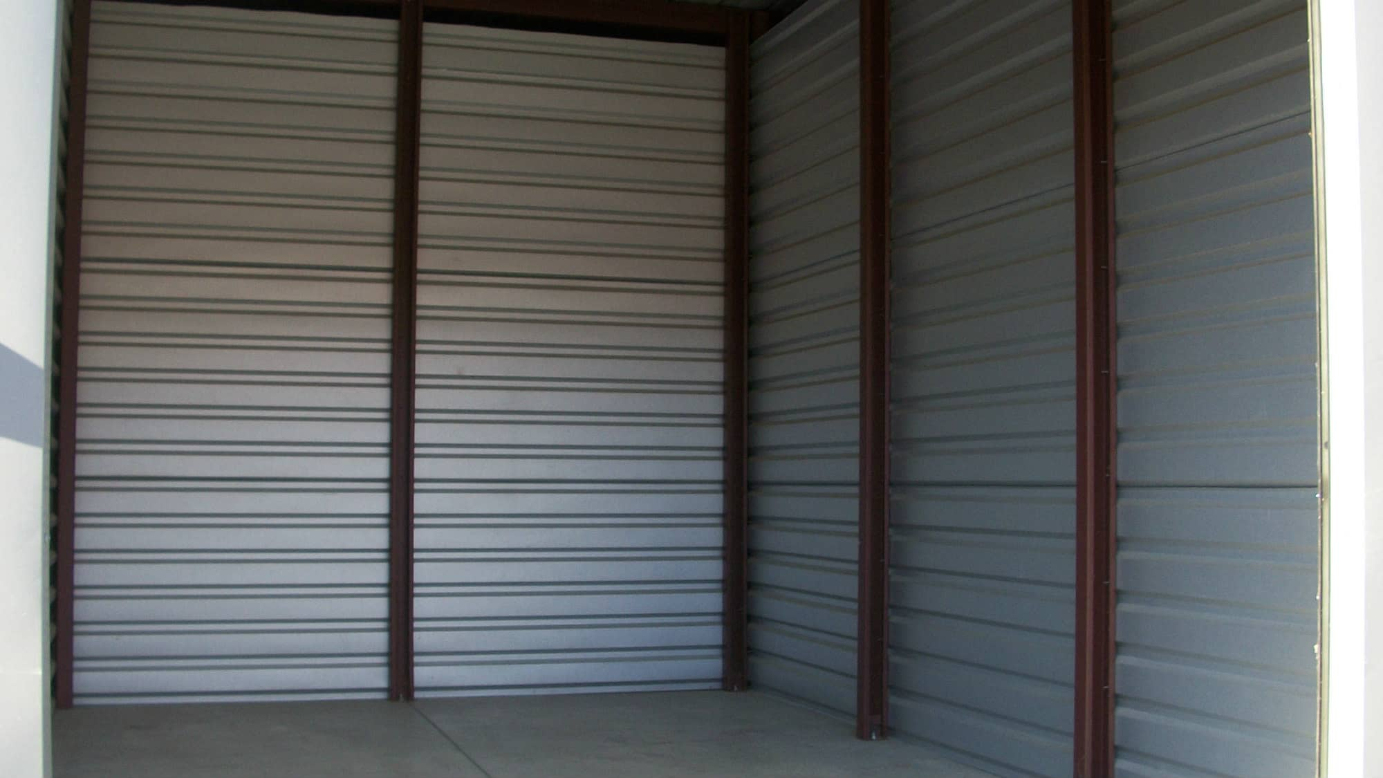 Open unit at Freestate Self Storage in Laurel, Maryland