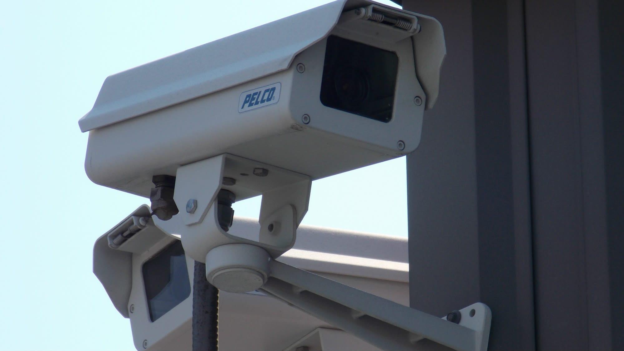 Security camera at Freestate Self Storage in Laurel, Maryland