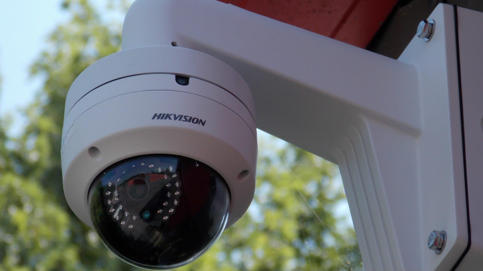 Outdoor camera at Freestate Self Storage in Laurel, Maryland