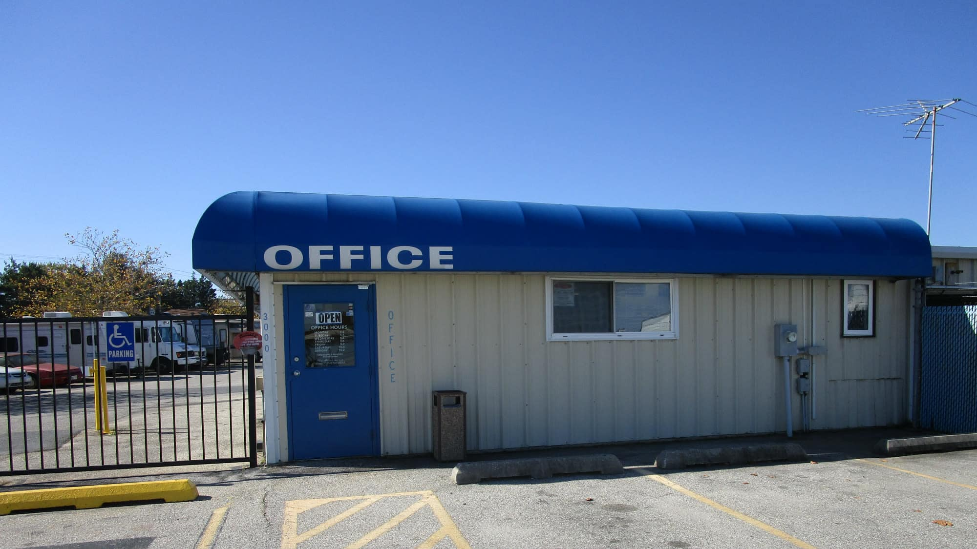 Office at Self Storage Plus in Middle River, Maryland