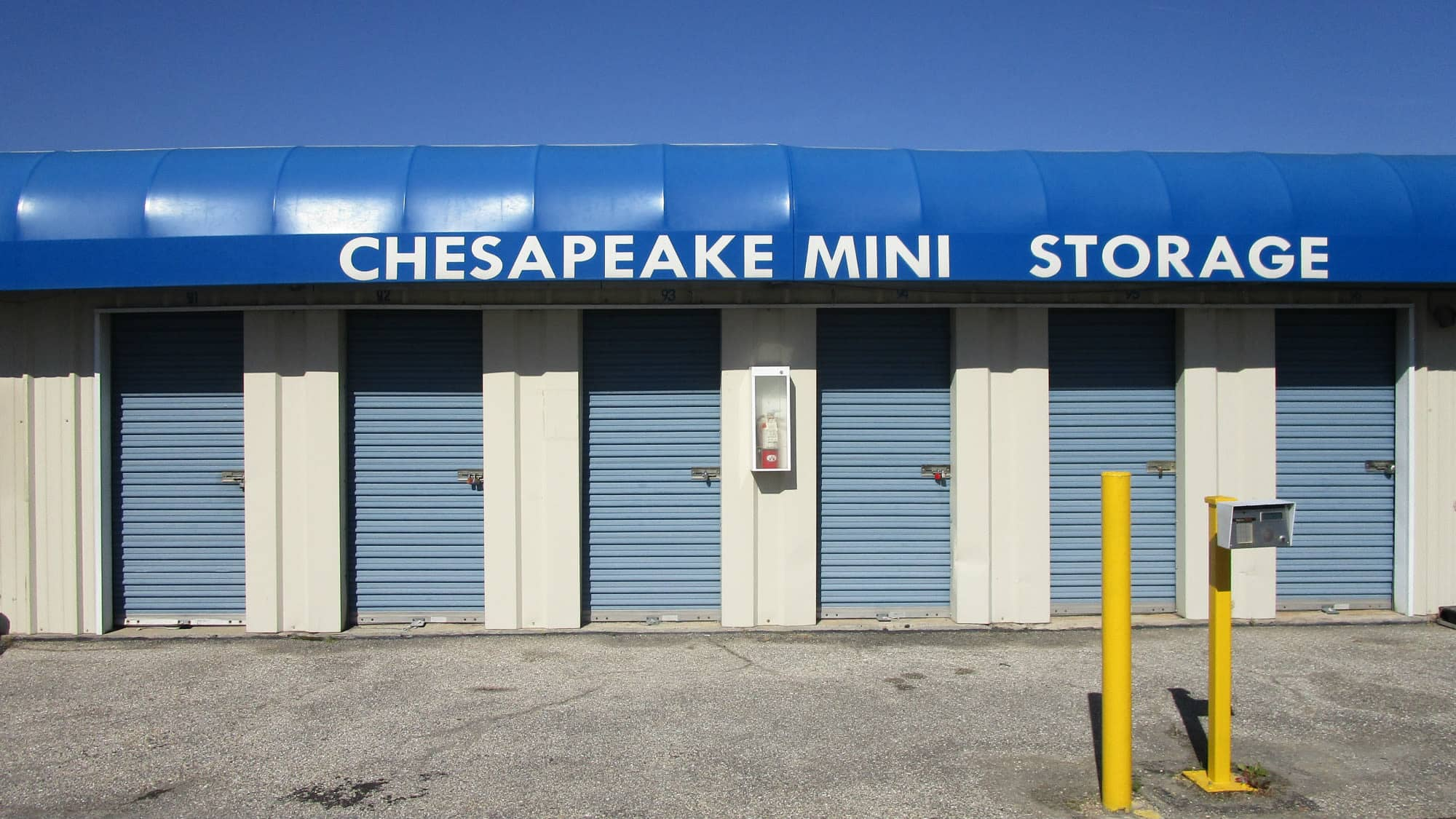 Keypad for exiting Chesapeake Mini Storage in Baltimore, Maryland