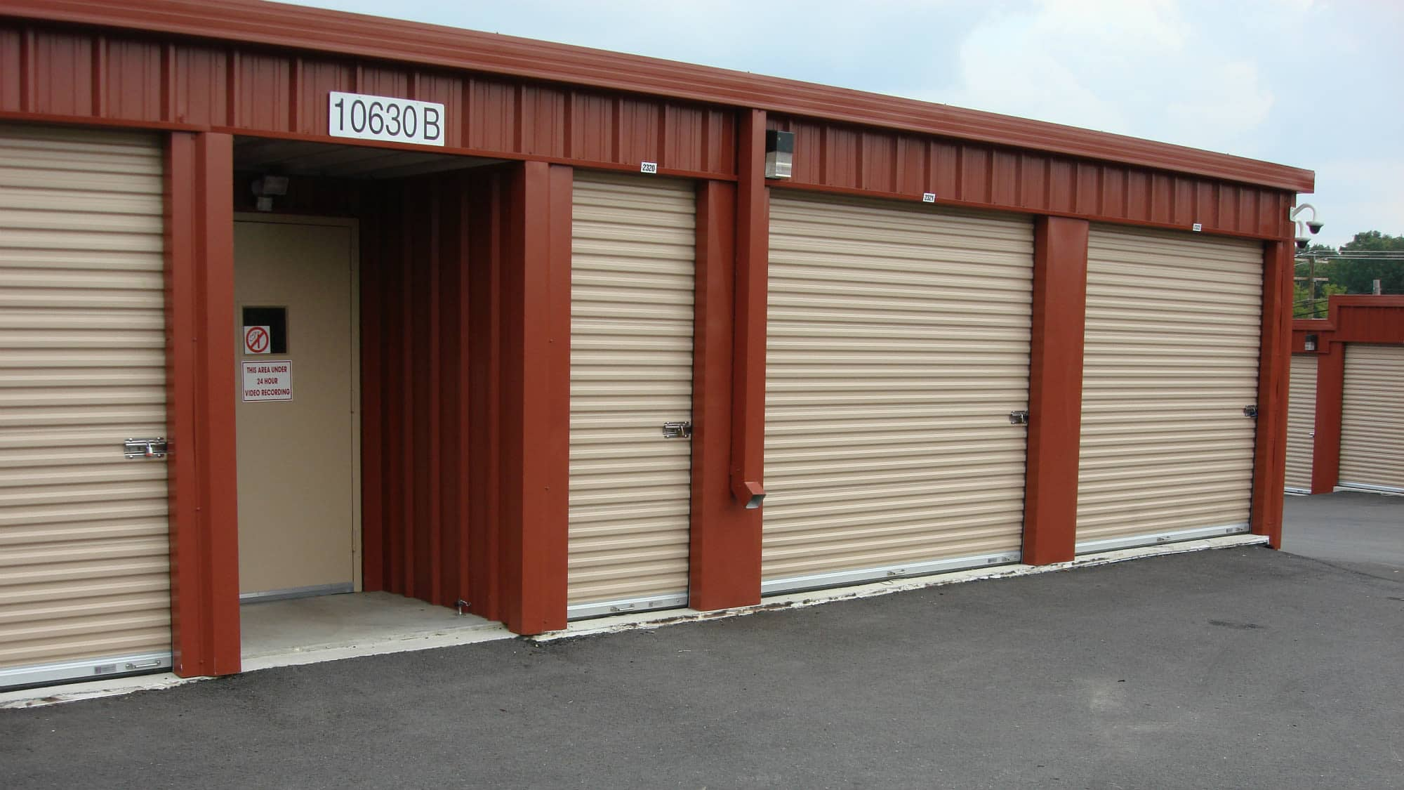 Open unit at New Market Mini Storage in New Market, Maryland