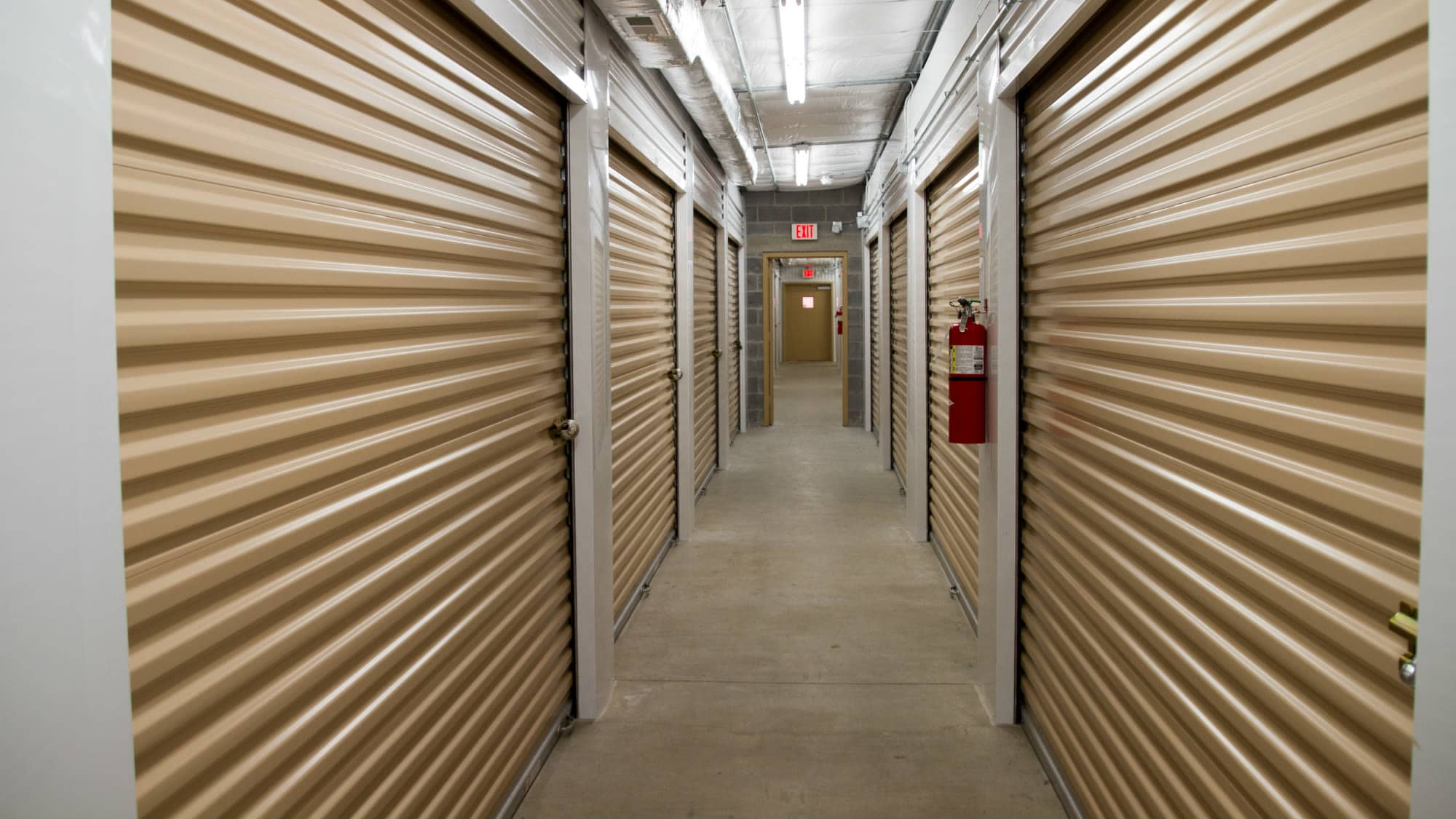 Interior unit at New Market Mini Storage in New Market, Maryland