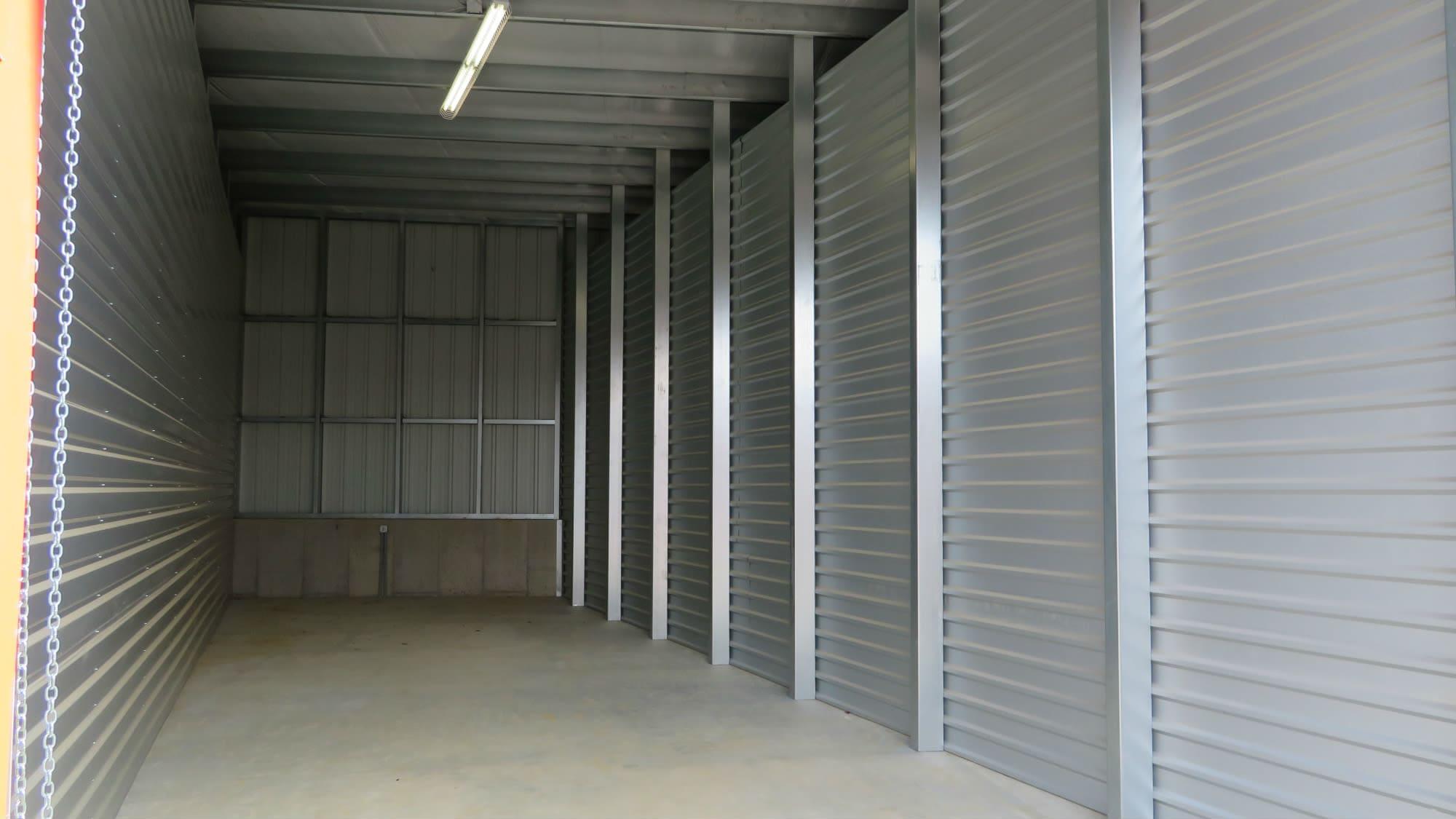 Large storage unit at New Market Mini Storage in New Market, Maryland