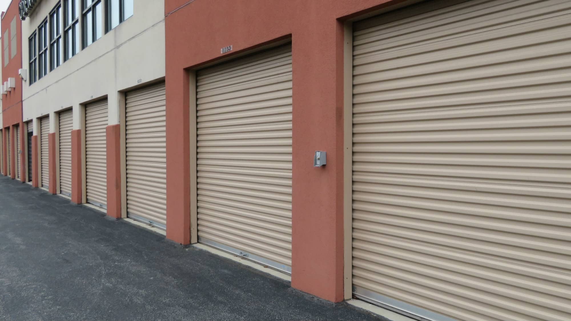Drive-up units at Odenton Self Storage in Odenton, Maryland