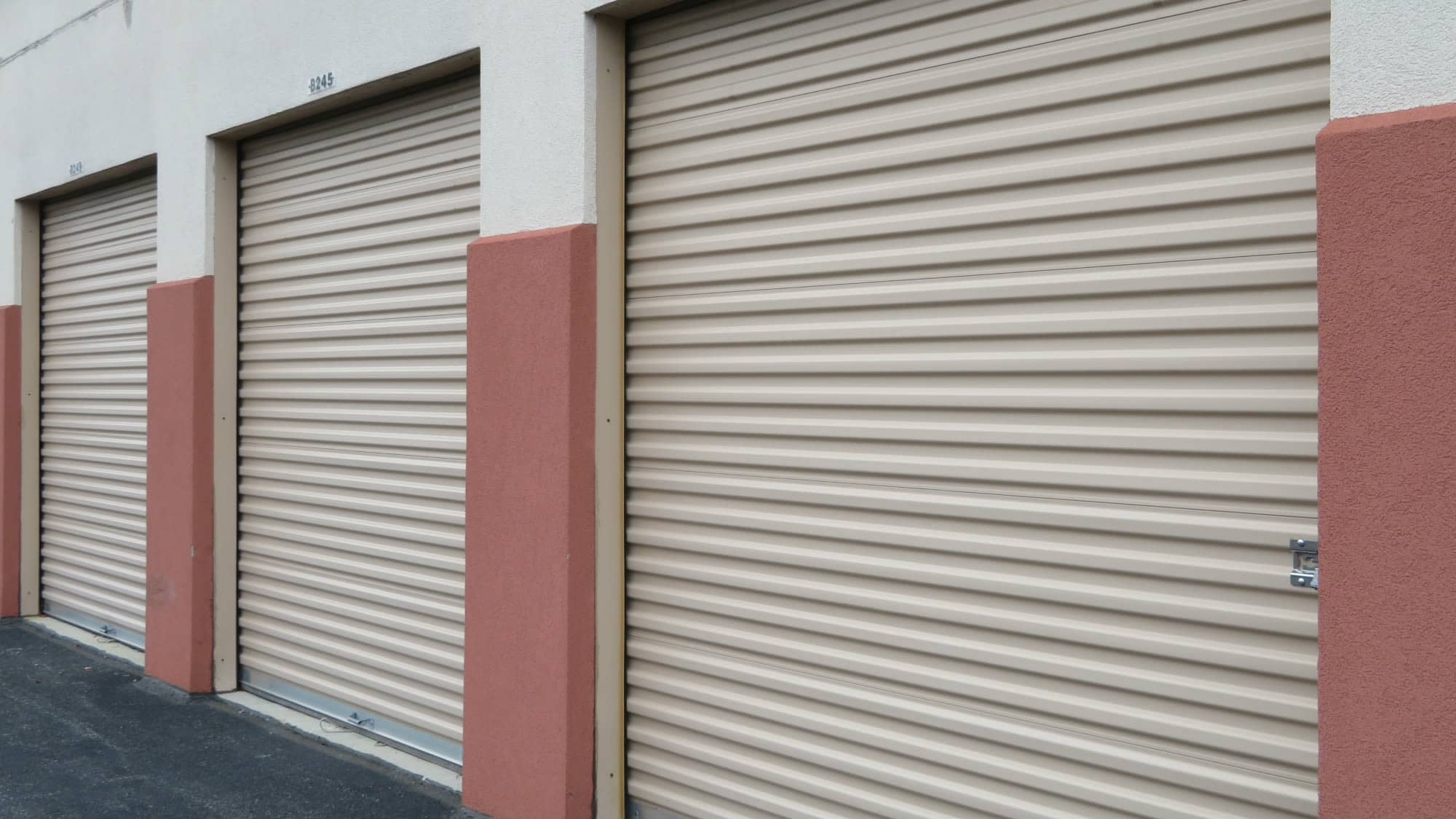Ground-level units at Odenton Self Storage in Odenton, Maryland