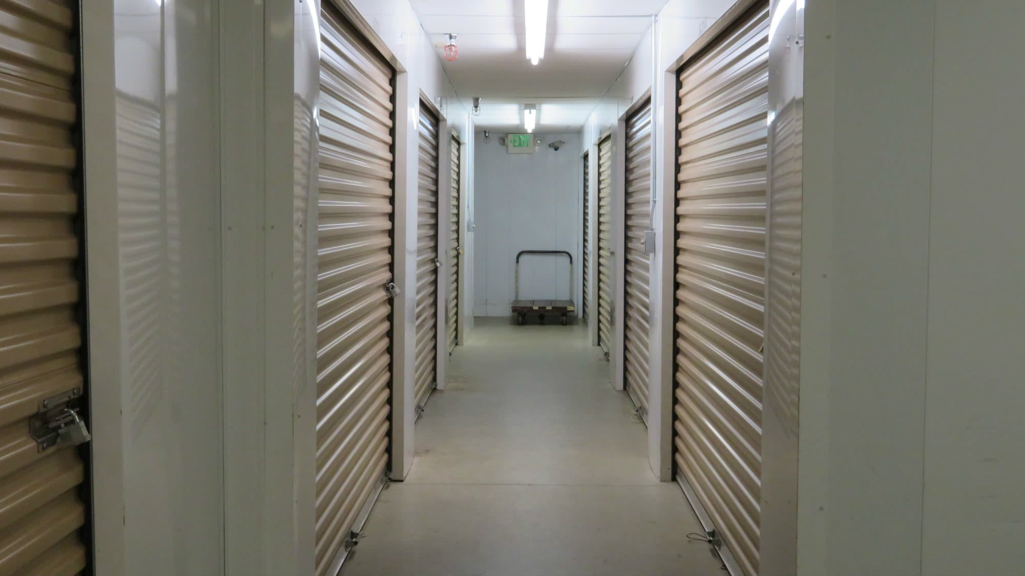 Climate-controlled storage units Odenton Self Storage in Odenton, Maryland