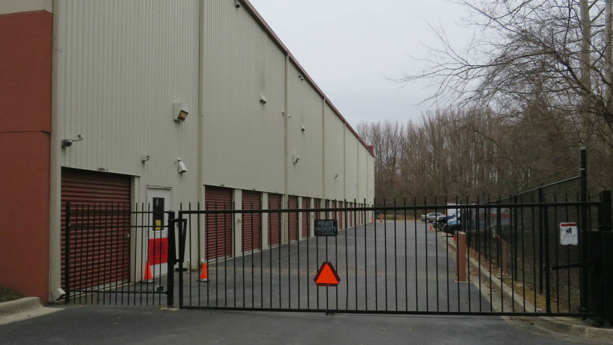 Gate at Odenton Self Storage in Odenton, Maryland