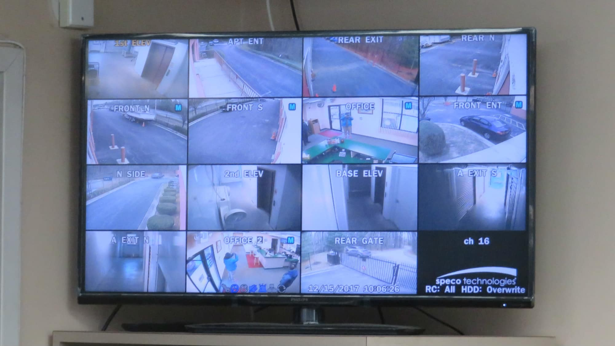 Security monitoring at Odenton Self Storage in Odenton, Maryland