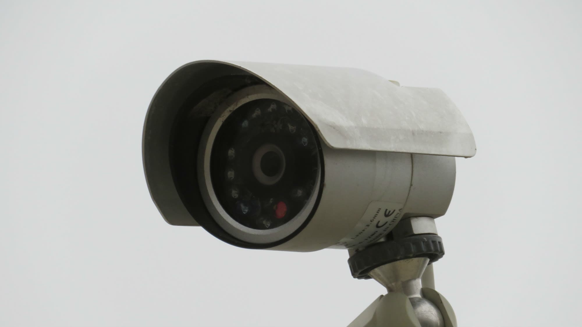 Security camera at Seabrook Self Storage in Seabrook, Maryland