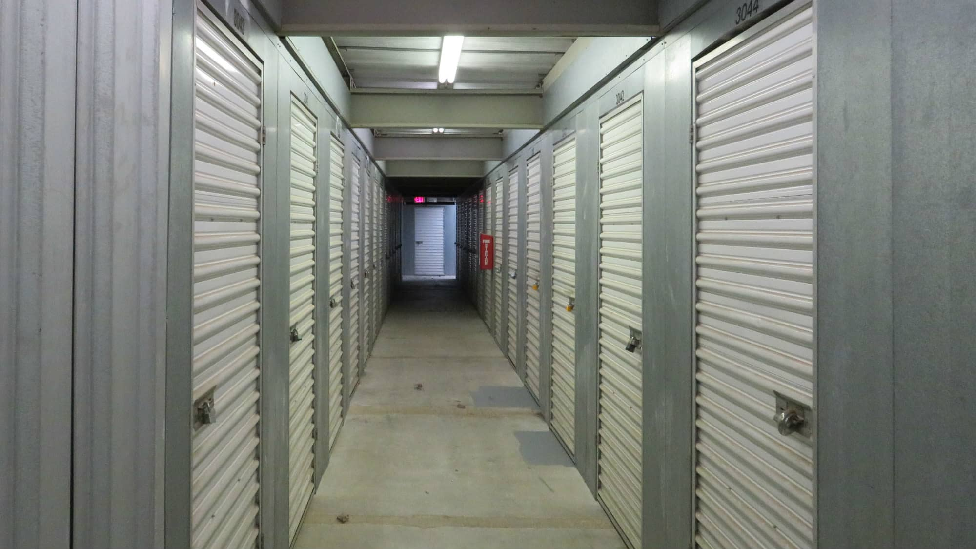 Interior units at Seabrook Self Storage in Seabrook, Maryland