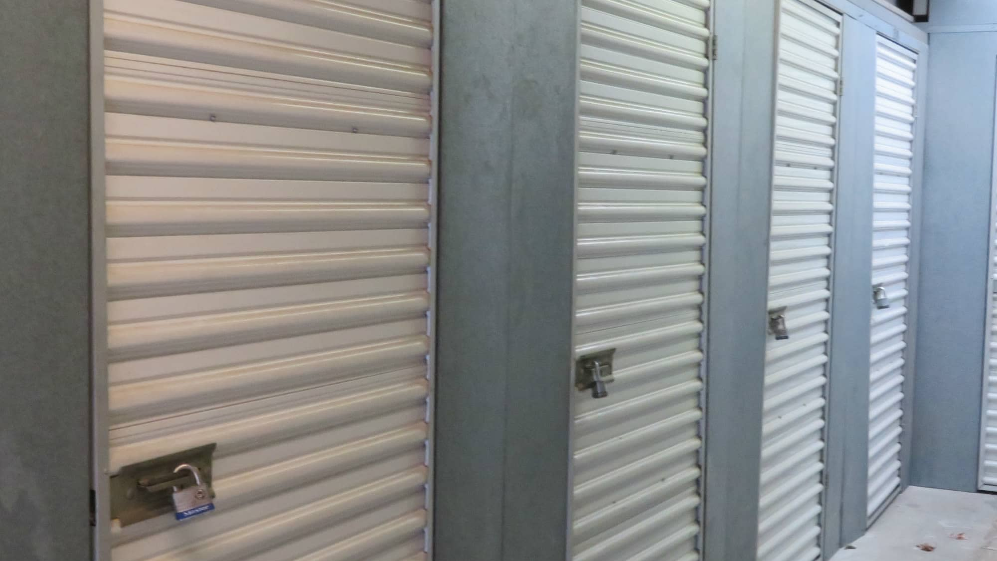locker units at Seabrook Self Storage in Seabrook, Maryland