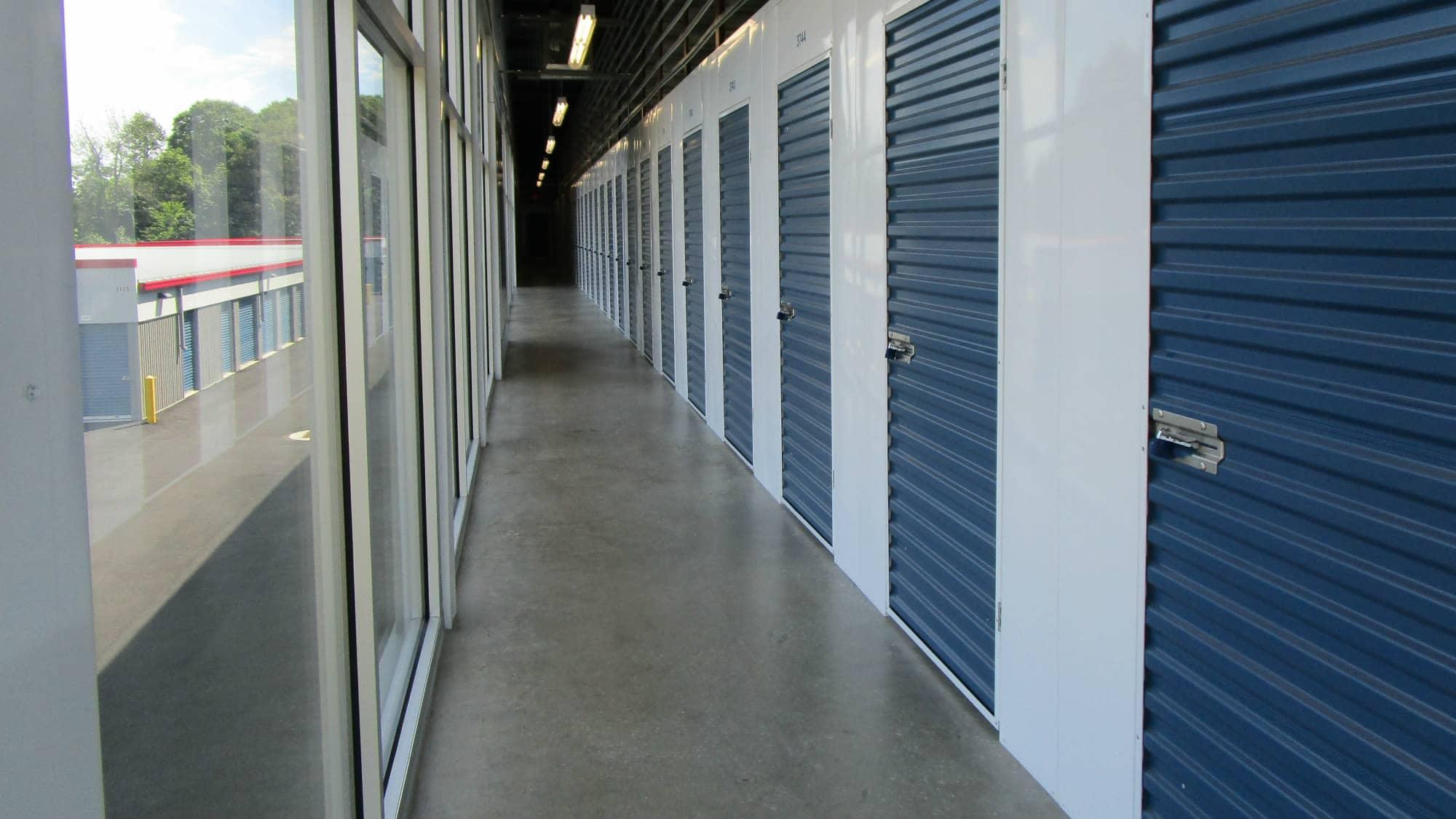 Locker units at Park 'N' Space Self Storage in Manassas, Virginia