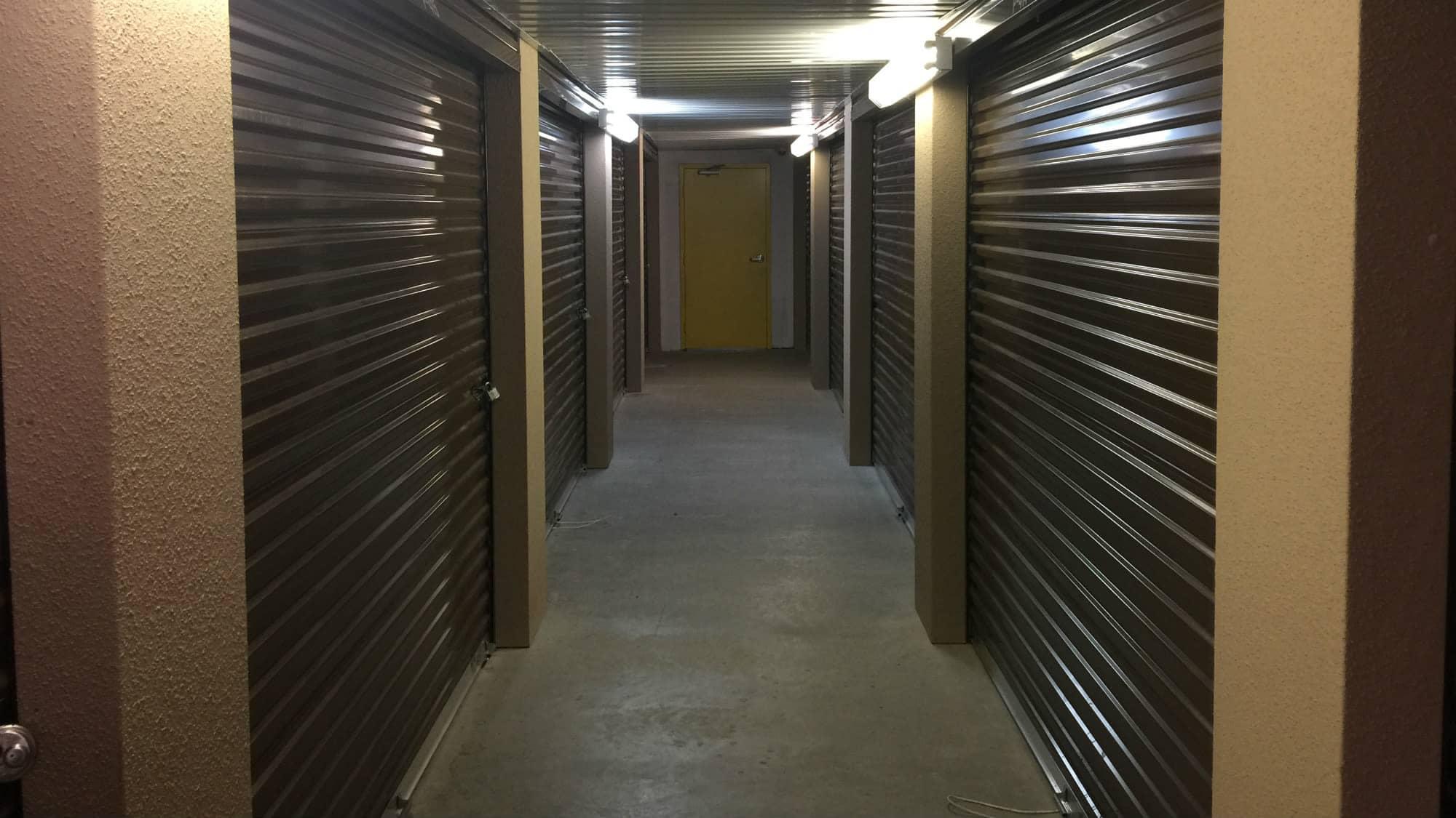 Interior units at Westlake Self Storage in Waldorf, MD