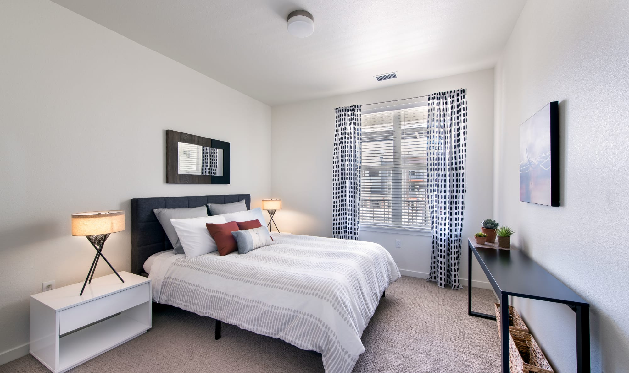 Bedroom layout at Elevate in Englewood, Colorado