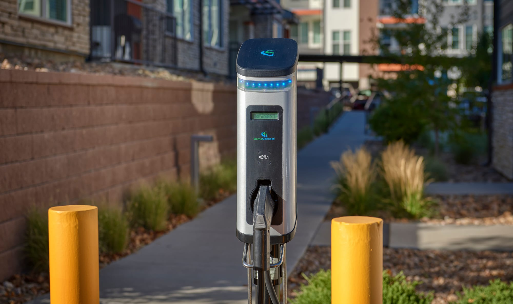 Electric Vehicle Charging Stations at Elevate in Englewood, Colorado