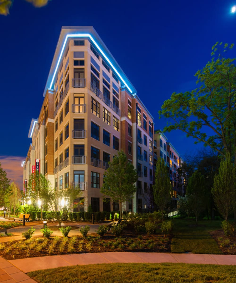 Beautiful street view of Solaire 10914 Georgia in Silver Spring, Maryland