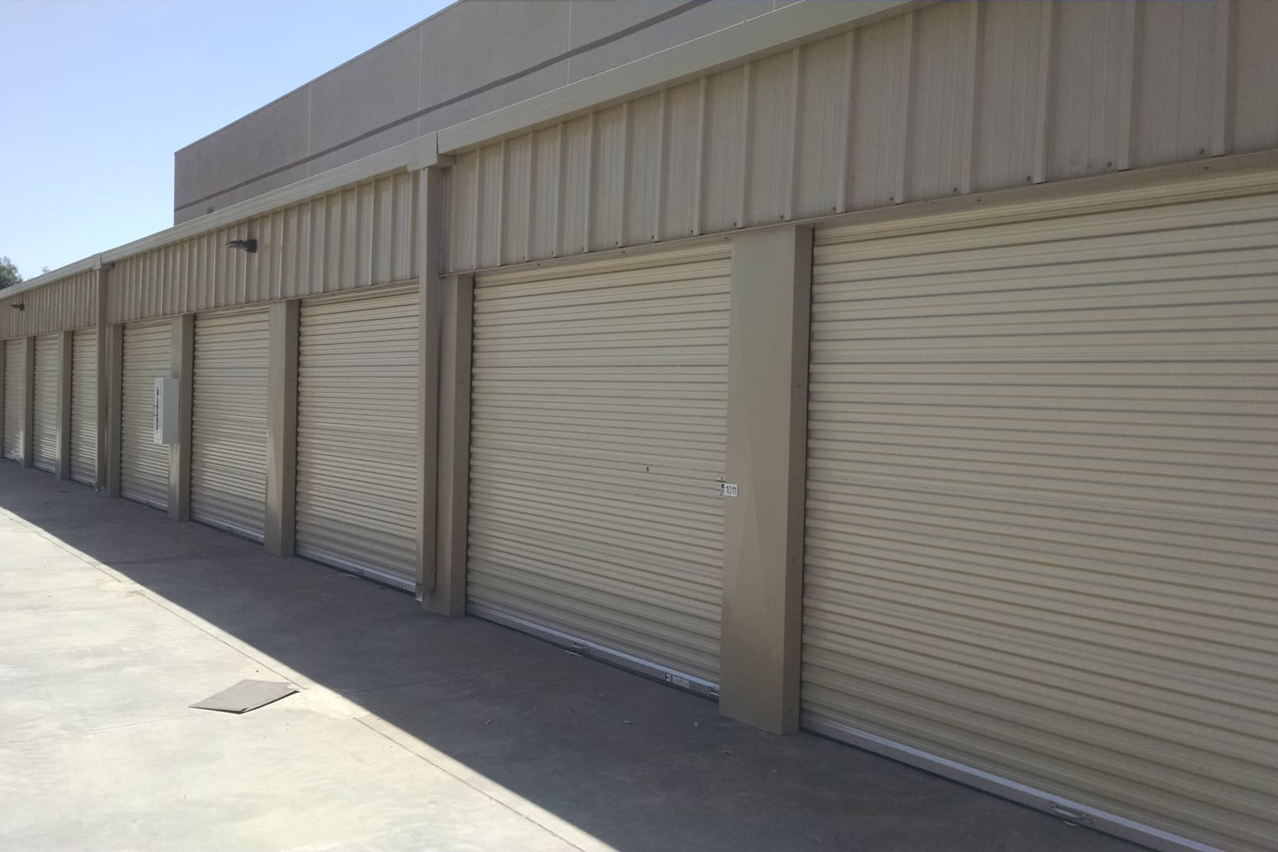 Drive-up units at StorQuest Self Storage in Chandler, Arizona