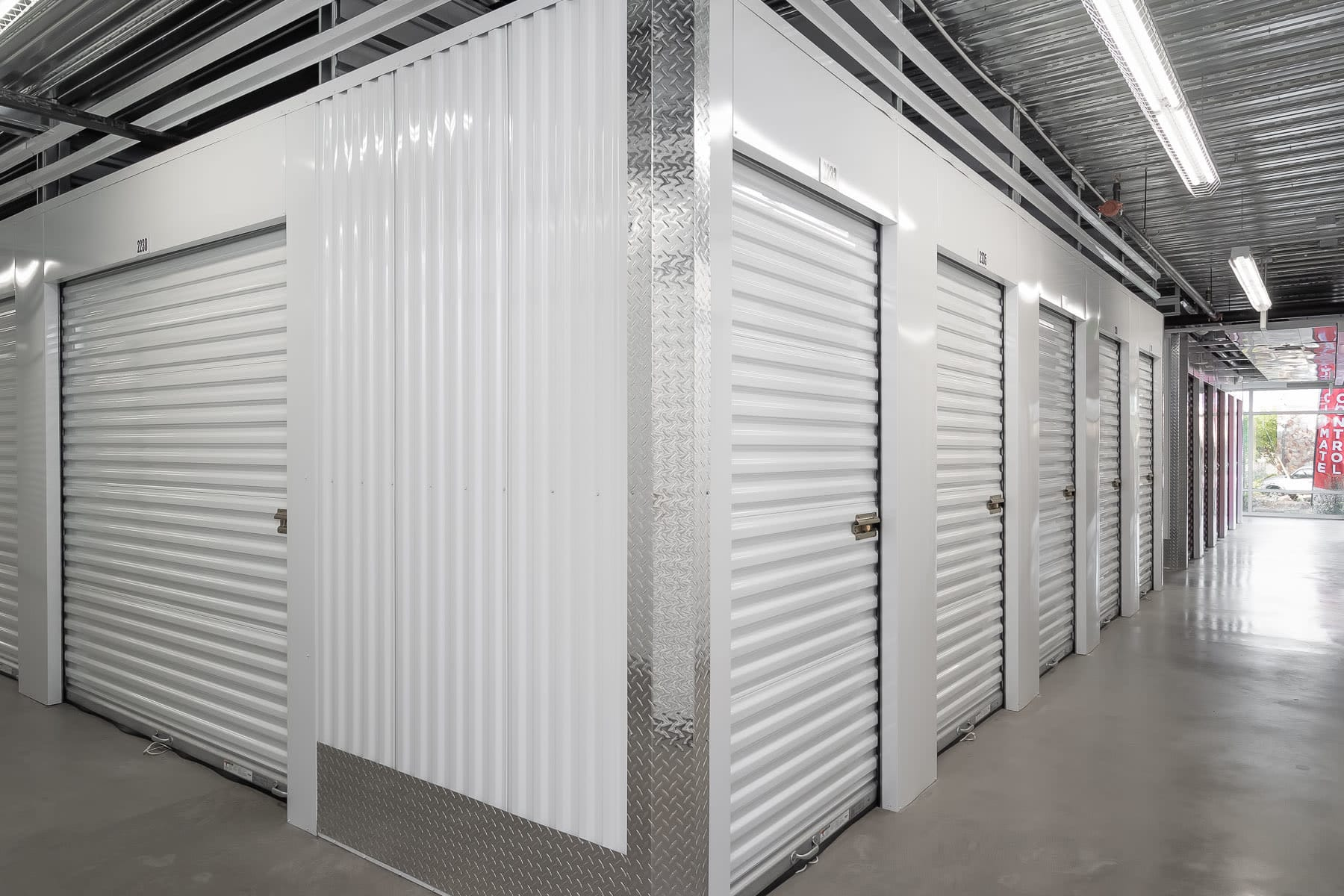 Climate-controlled units at StorQuest Self Storage in Odessa, Florida